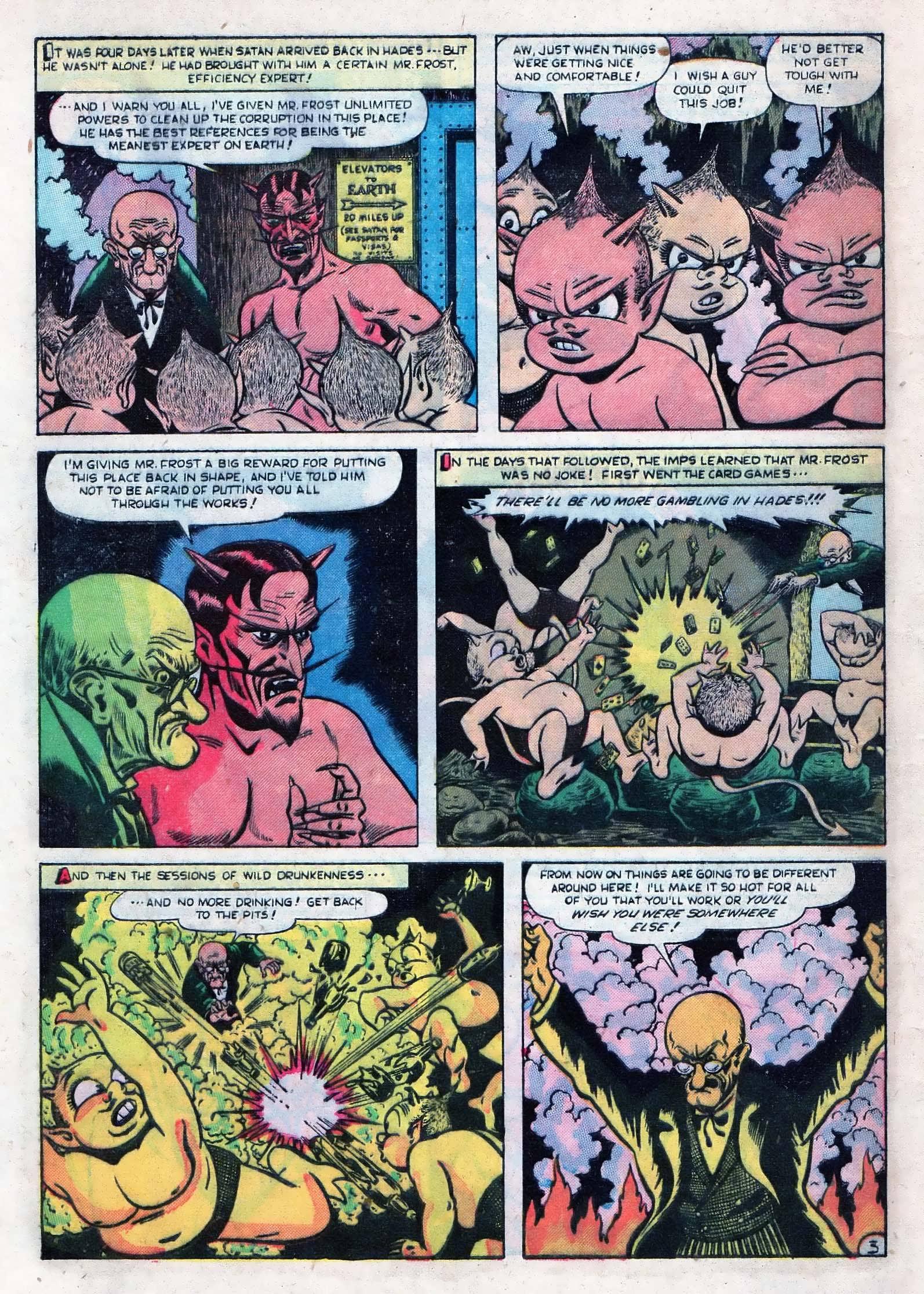 Read online Adventures into Weird Worlds comic -  Issue #10 - 29