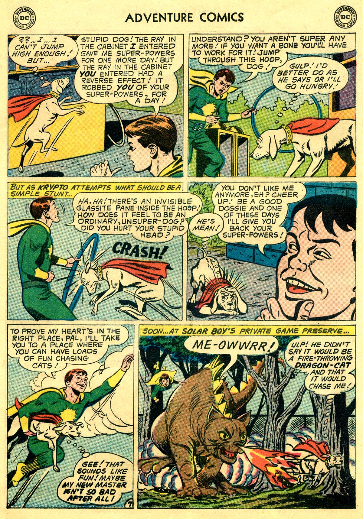 Read online Adventure Comics (1938) comic -  Issue #269 - 9