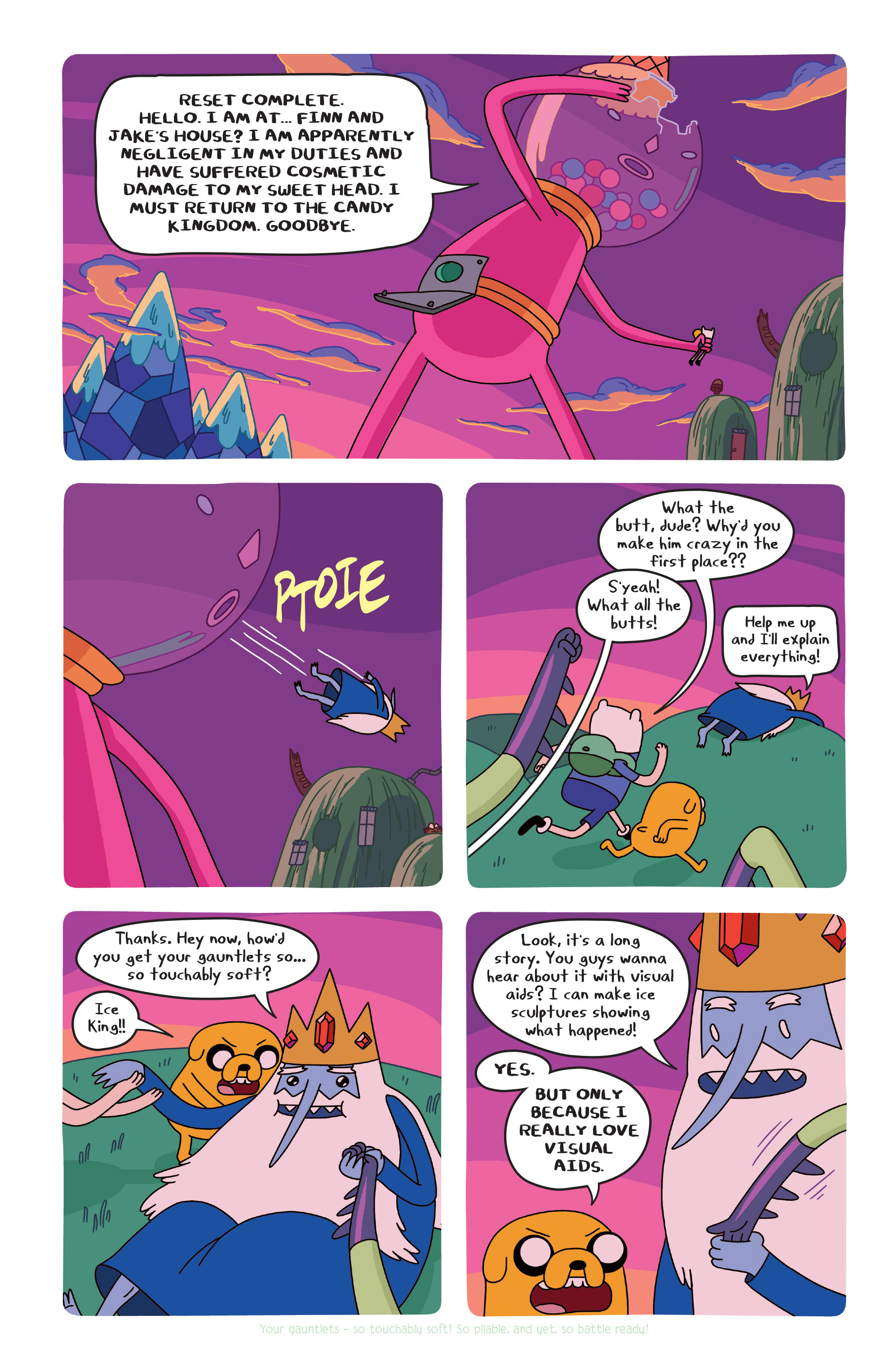 Read online Adventure Time comic -  Issue #20 - 19