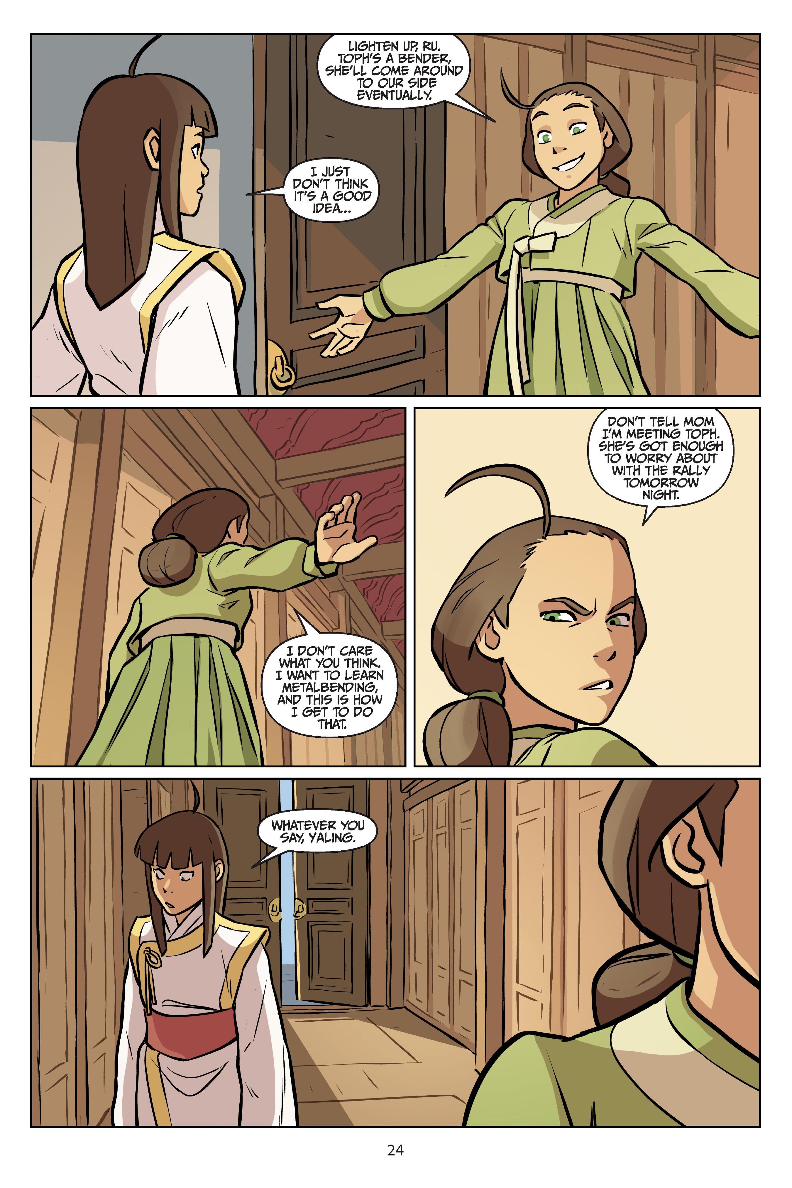 Nickelodeon Avatar: The Last Airbender - Imbalance TPB_2 Page 24