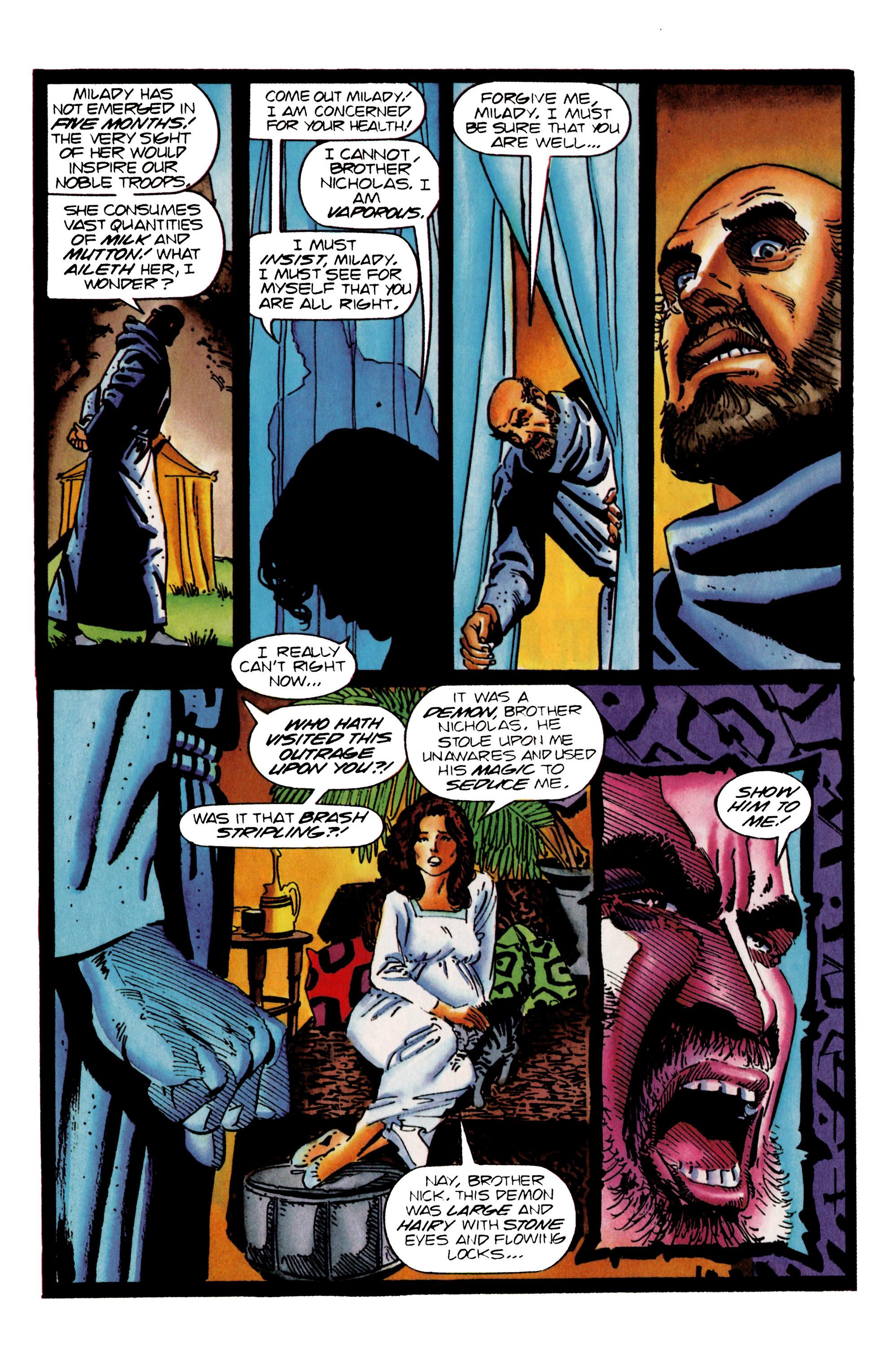 Read online Eternal Warrior (1992) comic -  Issue #25 - 17