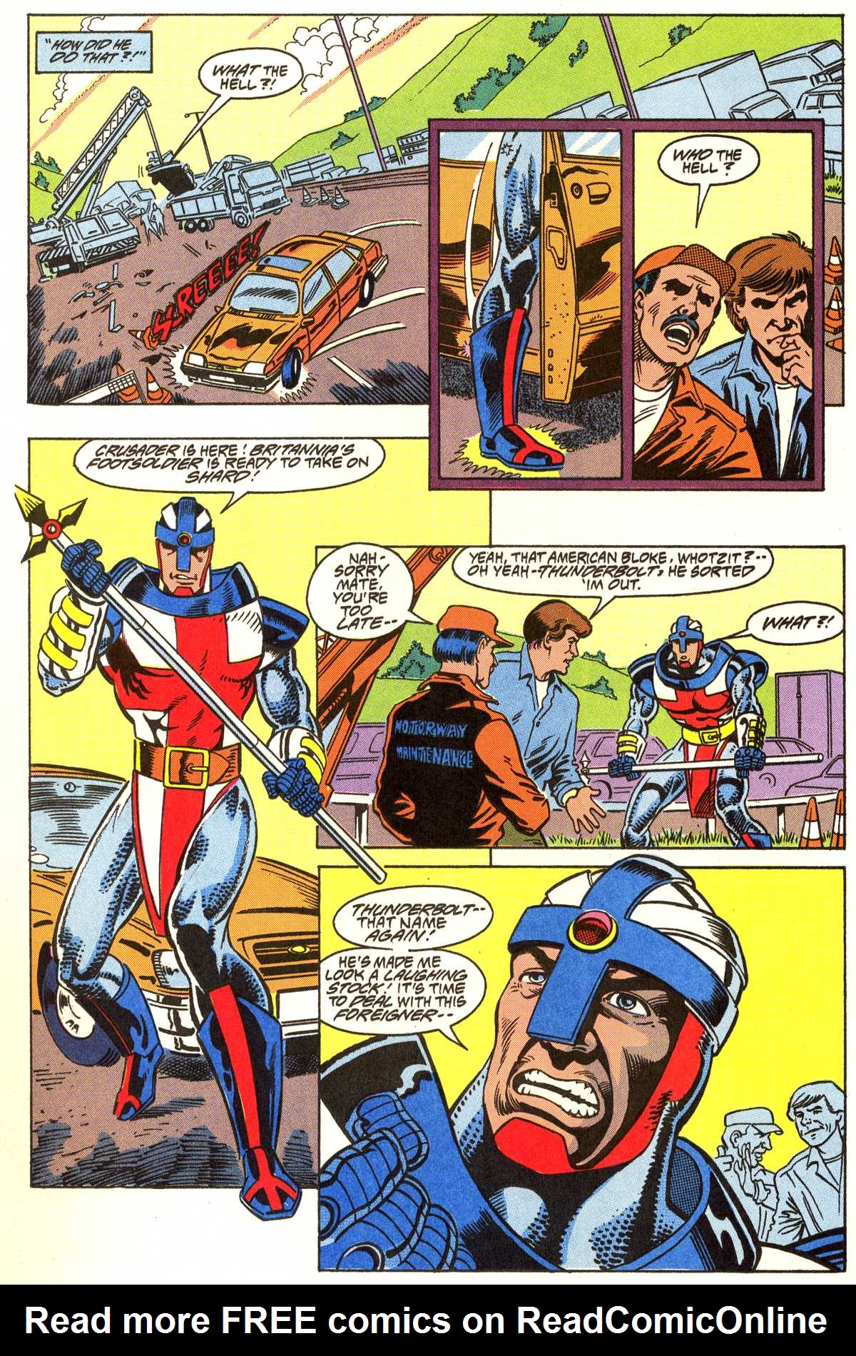 Read online Peter Cannon--Thunderbolt (1992) comic -  Issue #7 - 17