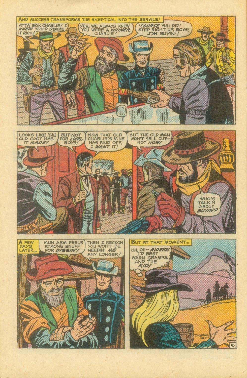The Rawhide Kid (1955) issue 87 - Page 17