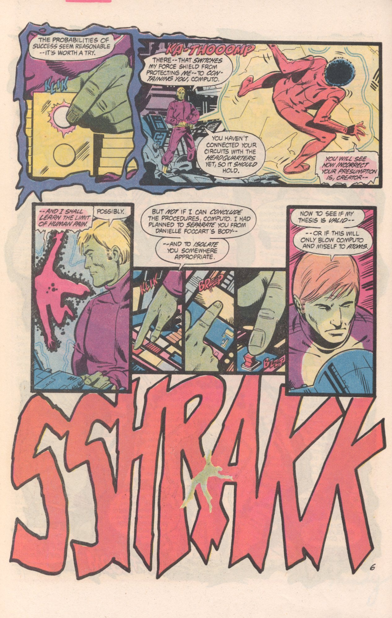 Legion of Super-Heroes (1980) 311 Page 6