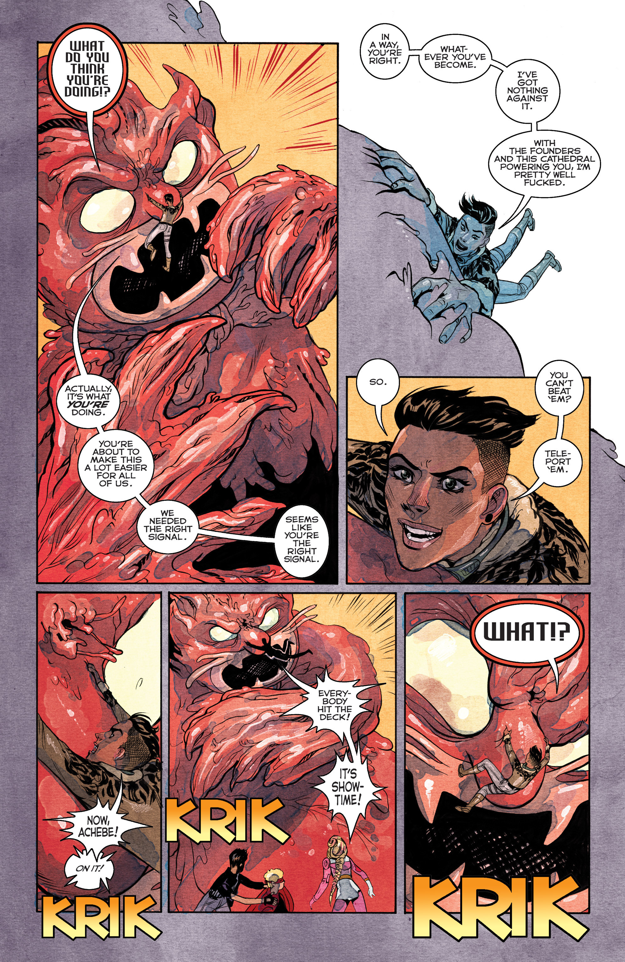 Read online Shutter comic -  Issue #27 - 16