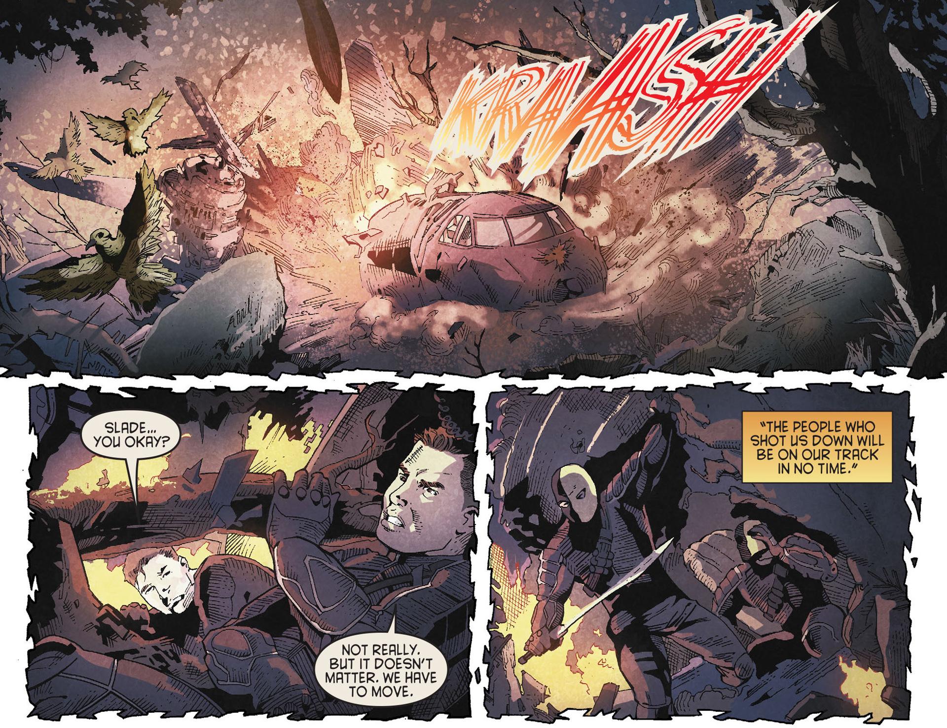 Read online Arrow [II] comic -  Issue #19 - 7
