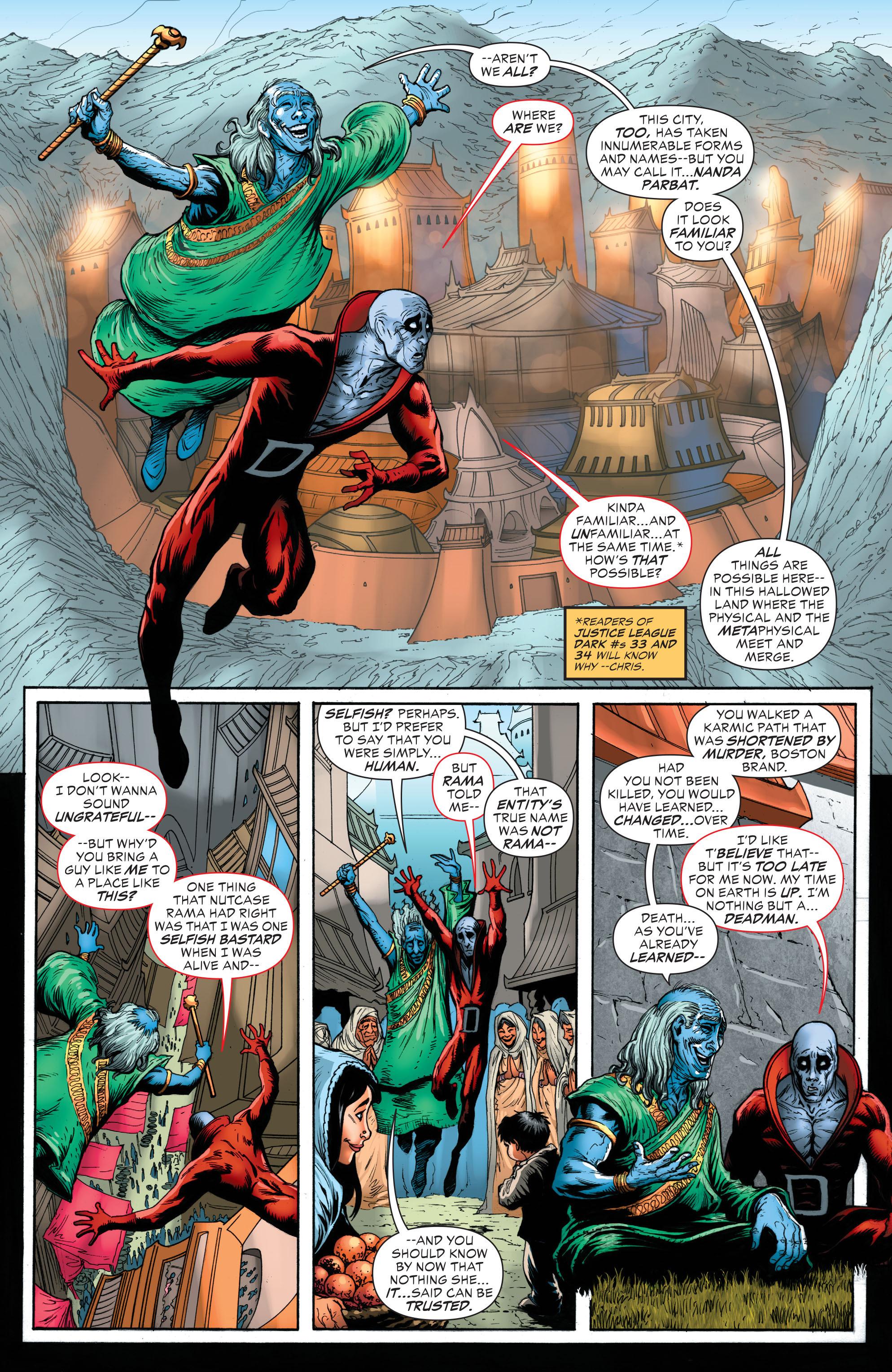 Read online Secret Origins (2014) comic -  Issue #6 - 21