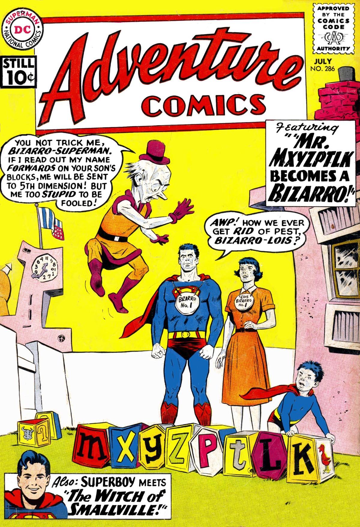 Read online Adventure Comics (1938) comic -  Issue #286 - 1