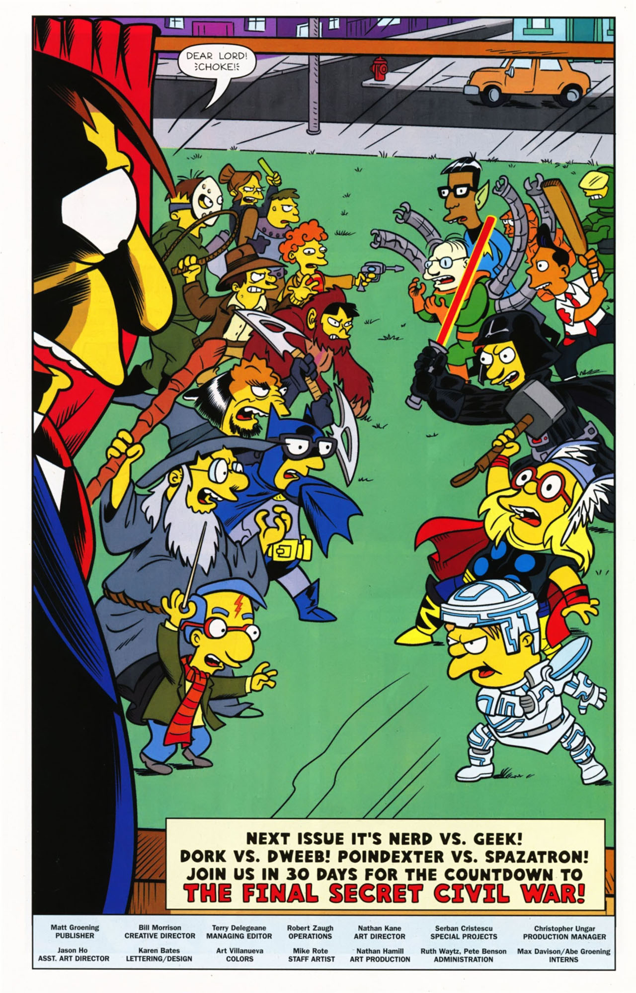 Read online Bongo Comics presents Comic Book Guy: The Comic Book comic -  Issue #2 - 33