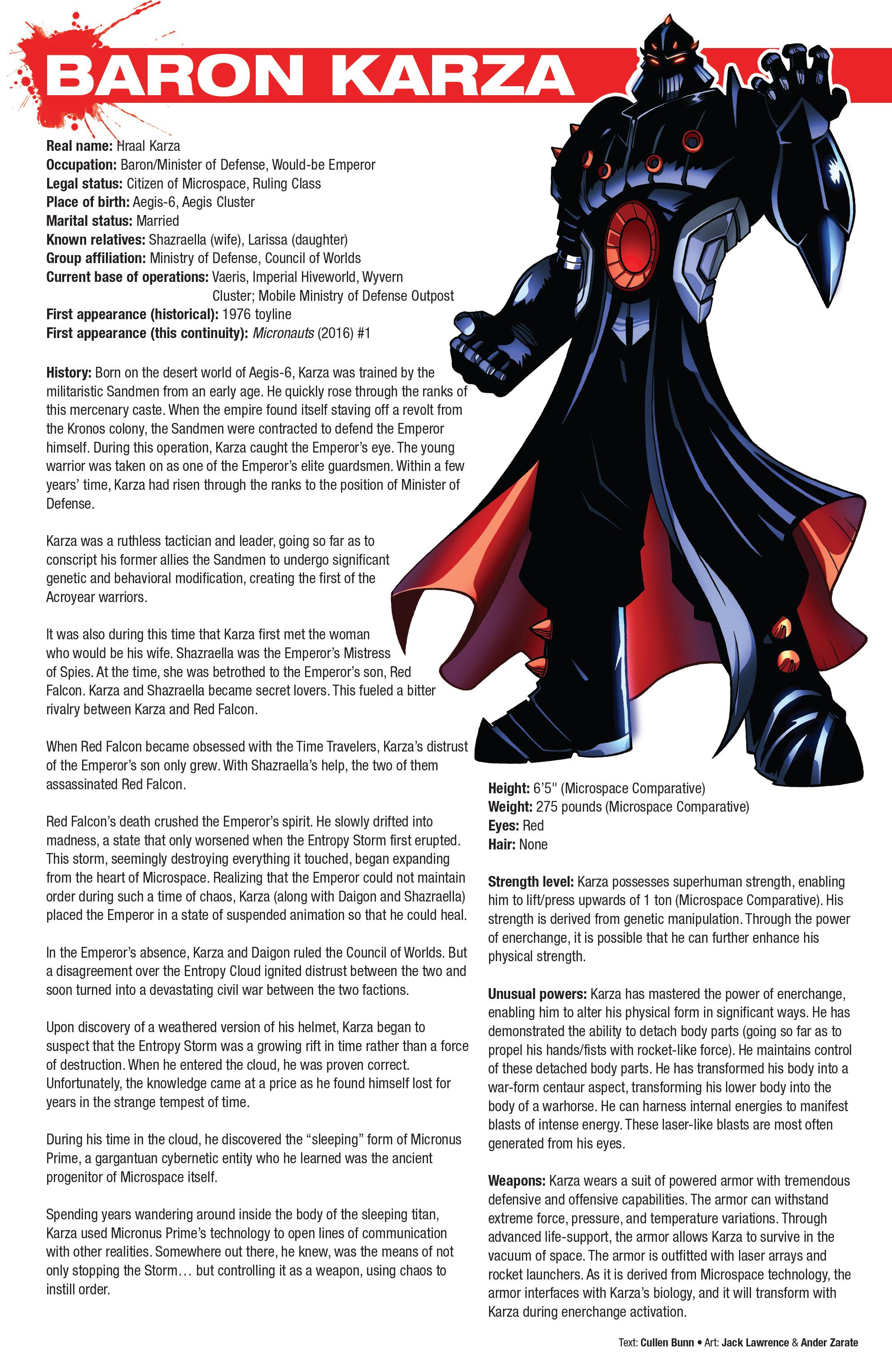 Read online Hasbro Heroes Sourcebook comic -  Issue #1 - 16