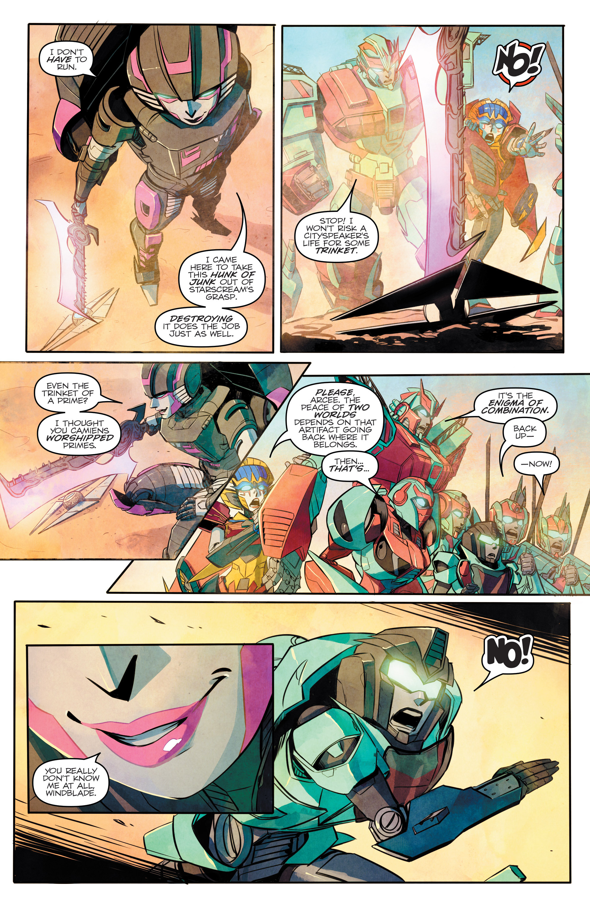 Read online Transformers: Combiner Hunters comic -  Issue # Full - 13
