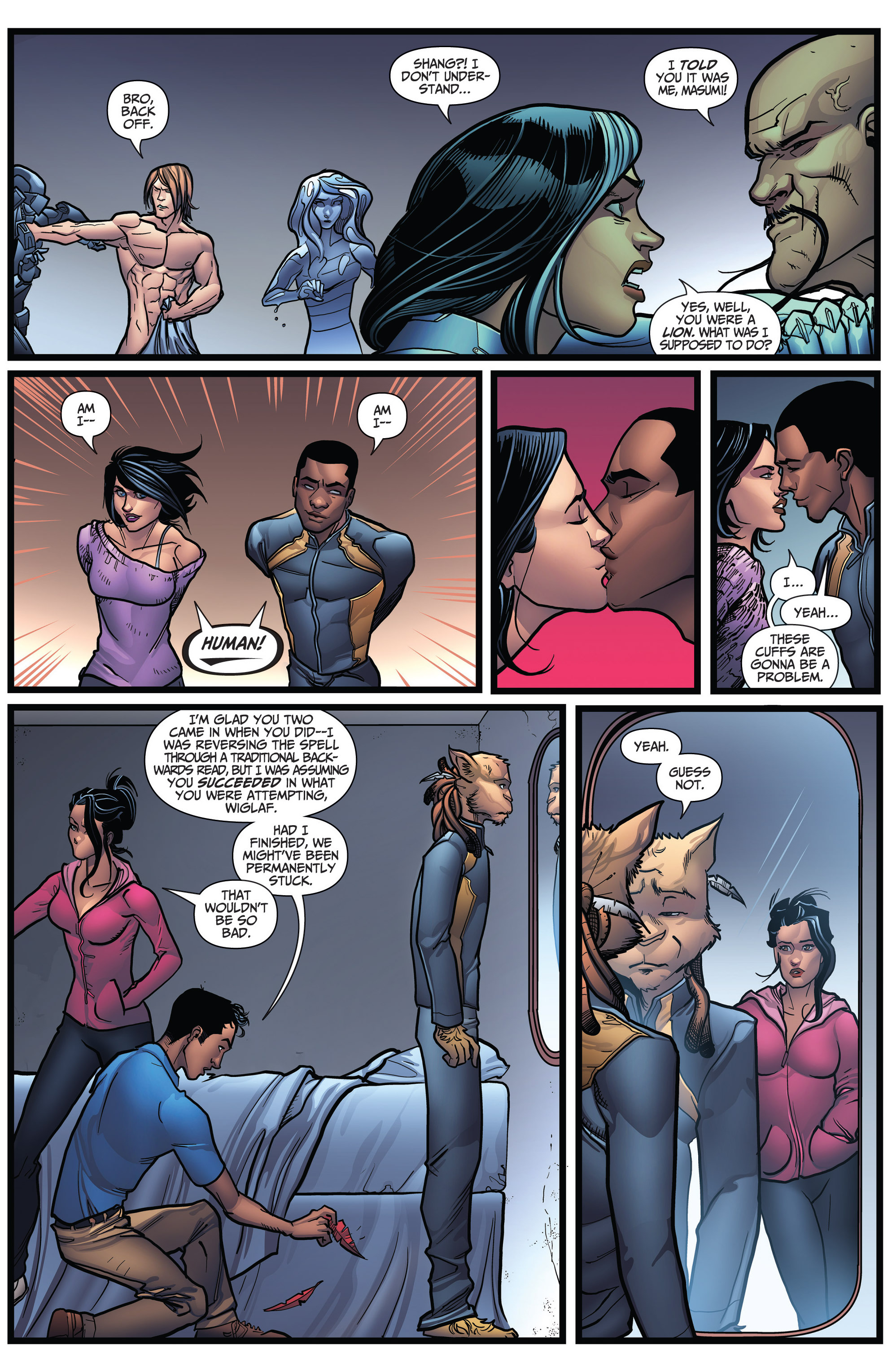 Read online Grimm Fairy Tales: Arcane Acre comic -  Issue # TPB 3 - 139