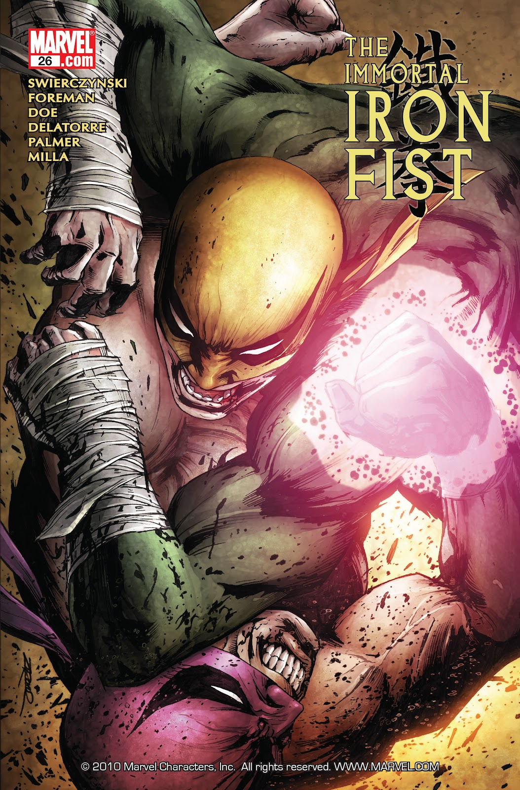 The Immortal Iron Fist issue 26 - Page 1