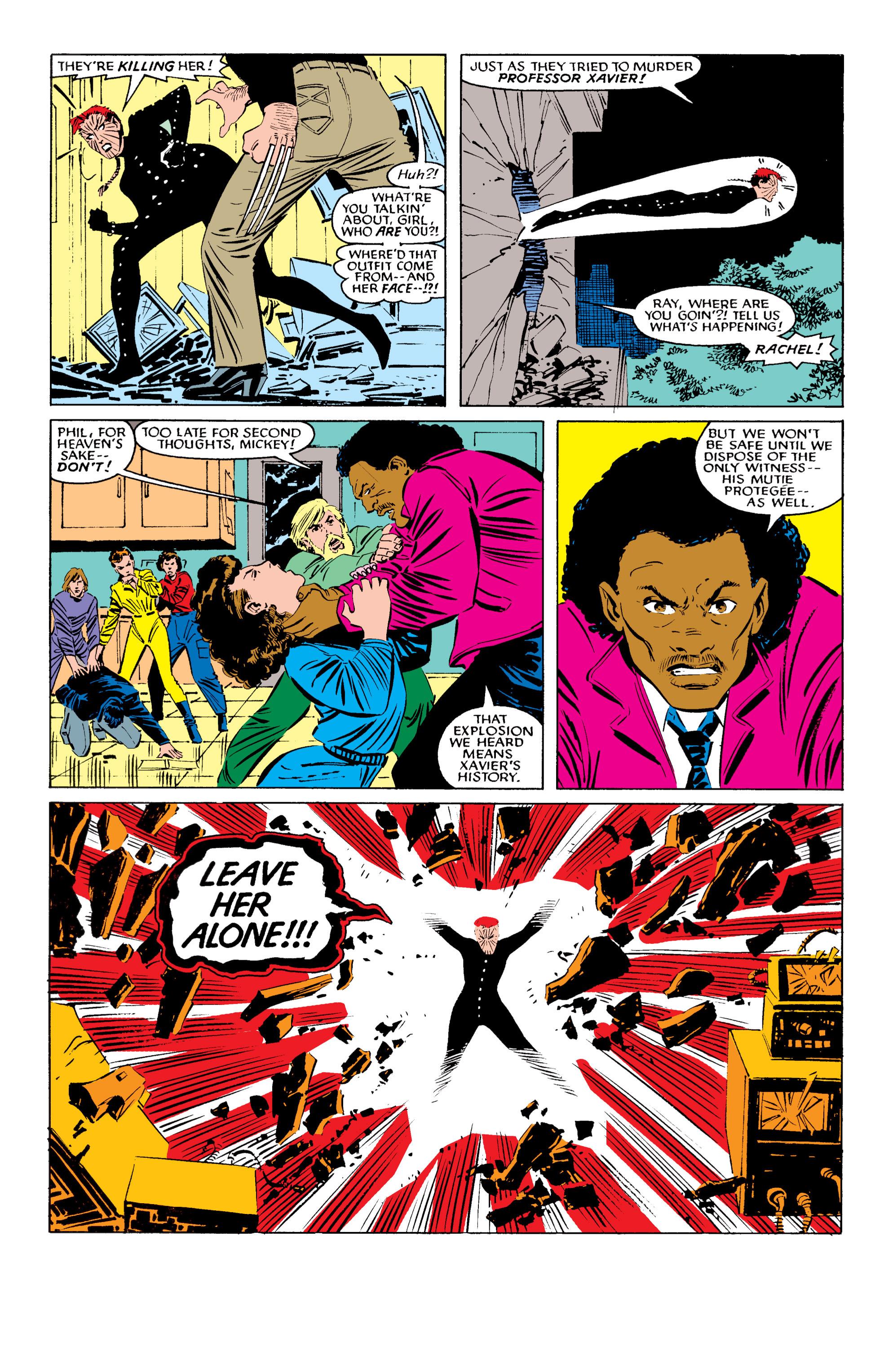 Read online Uncanny X-Men (1963) comic -  Issue #196 - 19