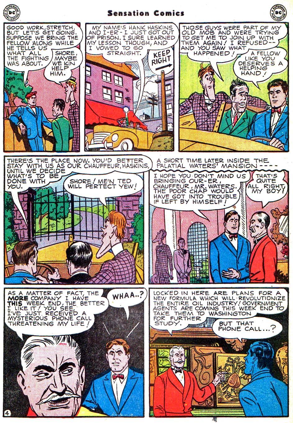 Read online Sensation (Mystery) Comics comic -  Issue #54 - 45