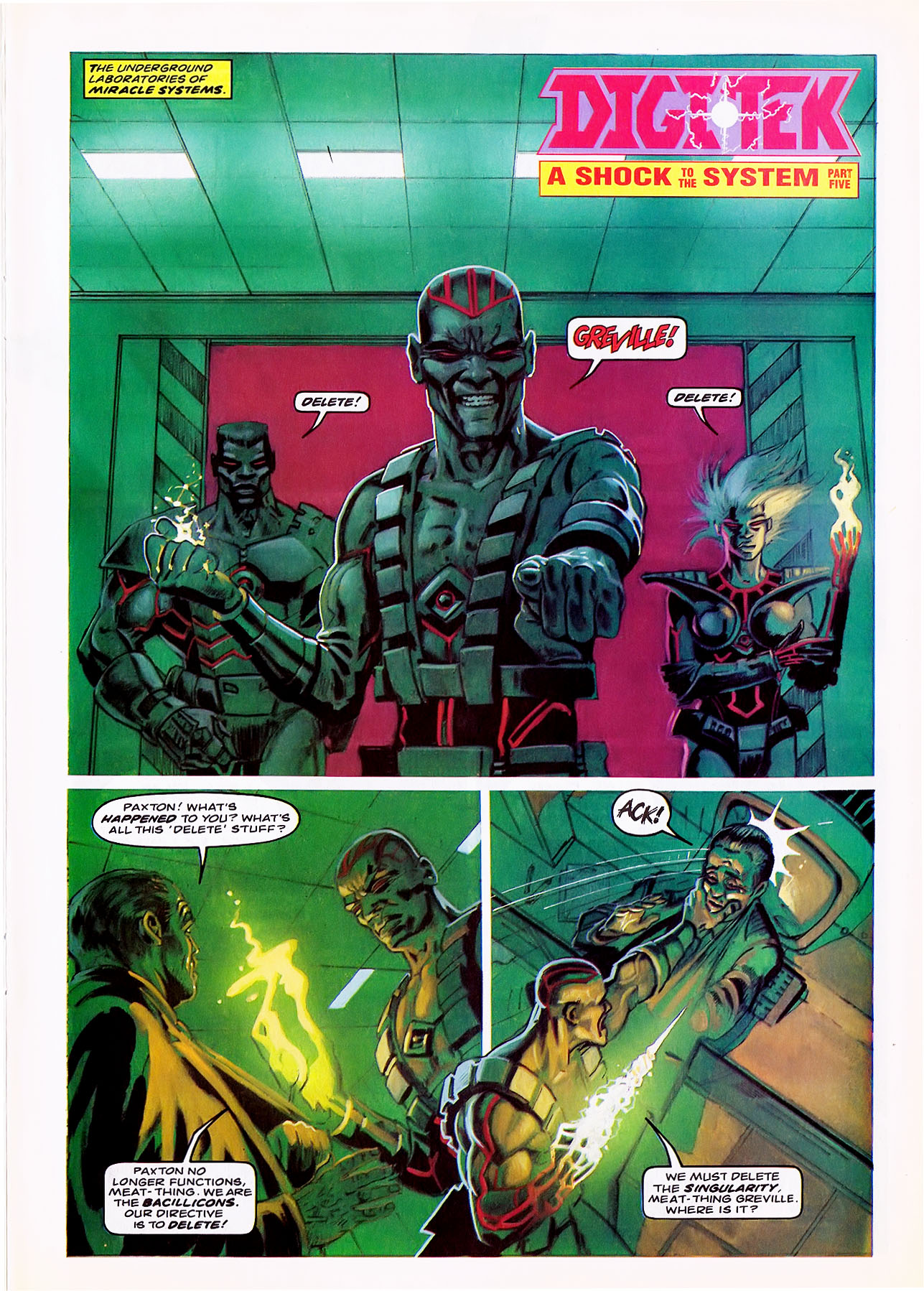 Read online Overkill comic -  Issue #6 - 9
