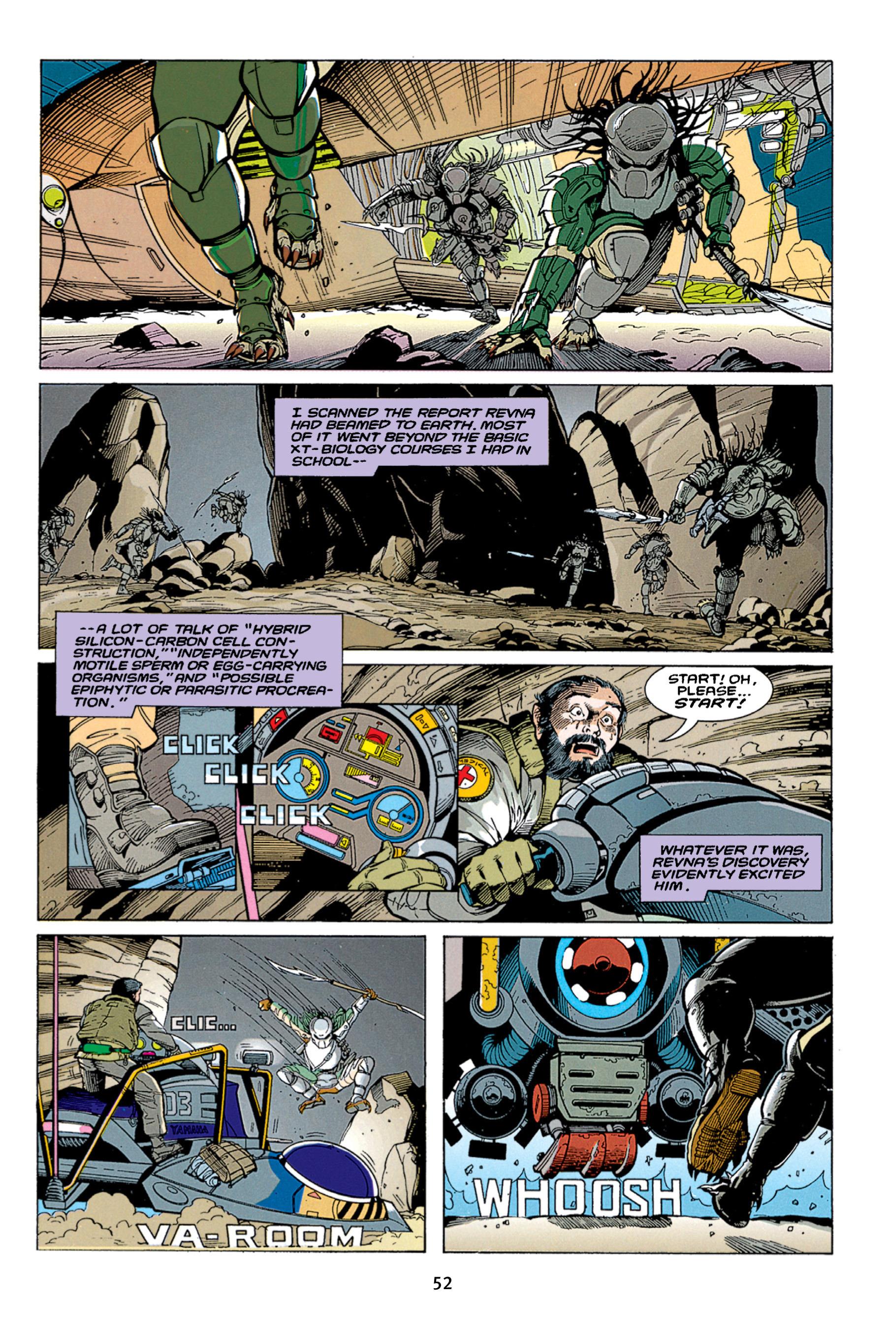 Read online Aliens vs. Predator Omnibus comic -  Issue # _TPB 1 Part 1 - 52