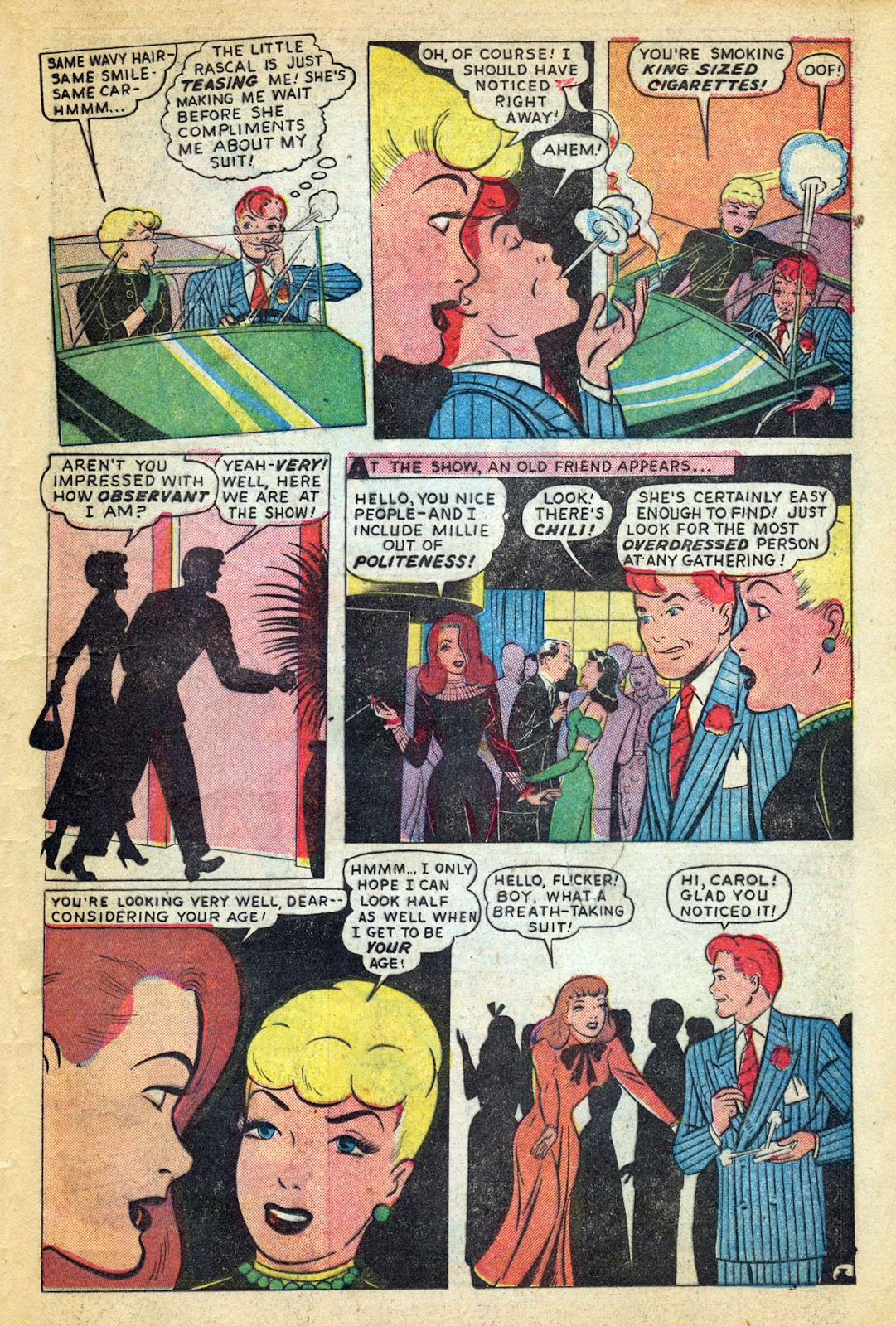 Read online Millie the Model comic -  Issue #14 - 31
