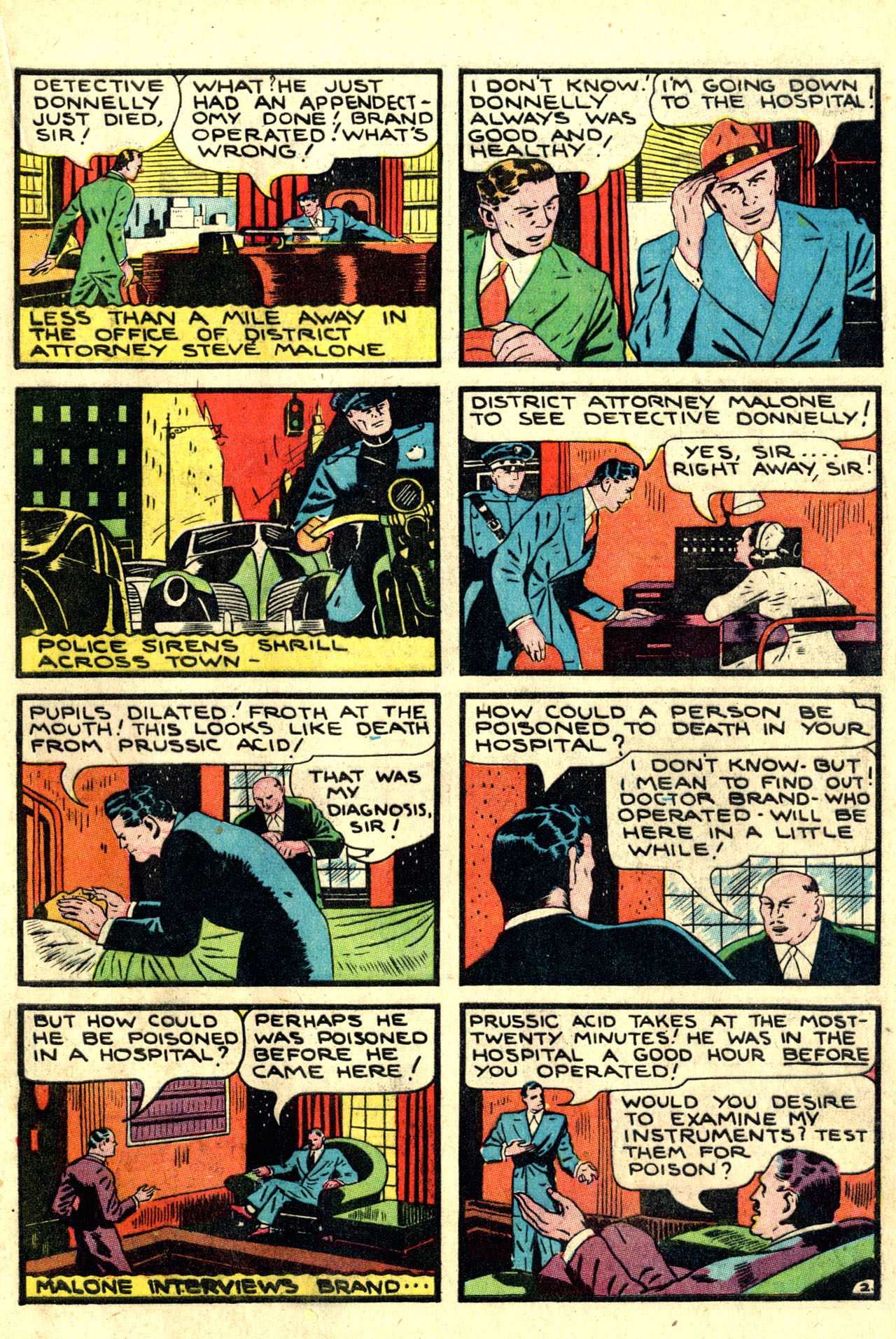 Read online Detective Comics (1937) comic -  Issue #44 - 45