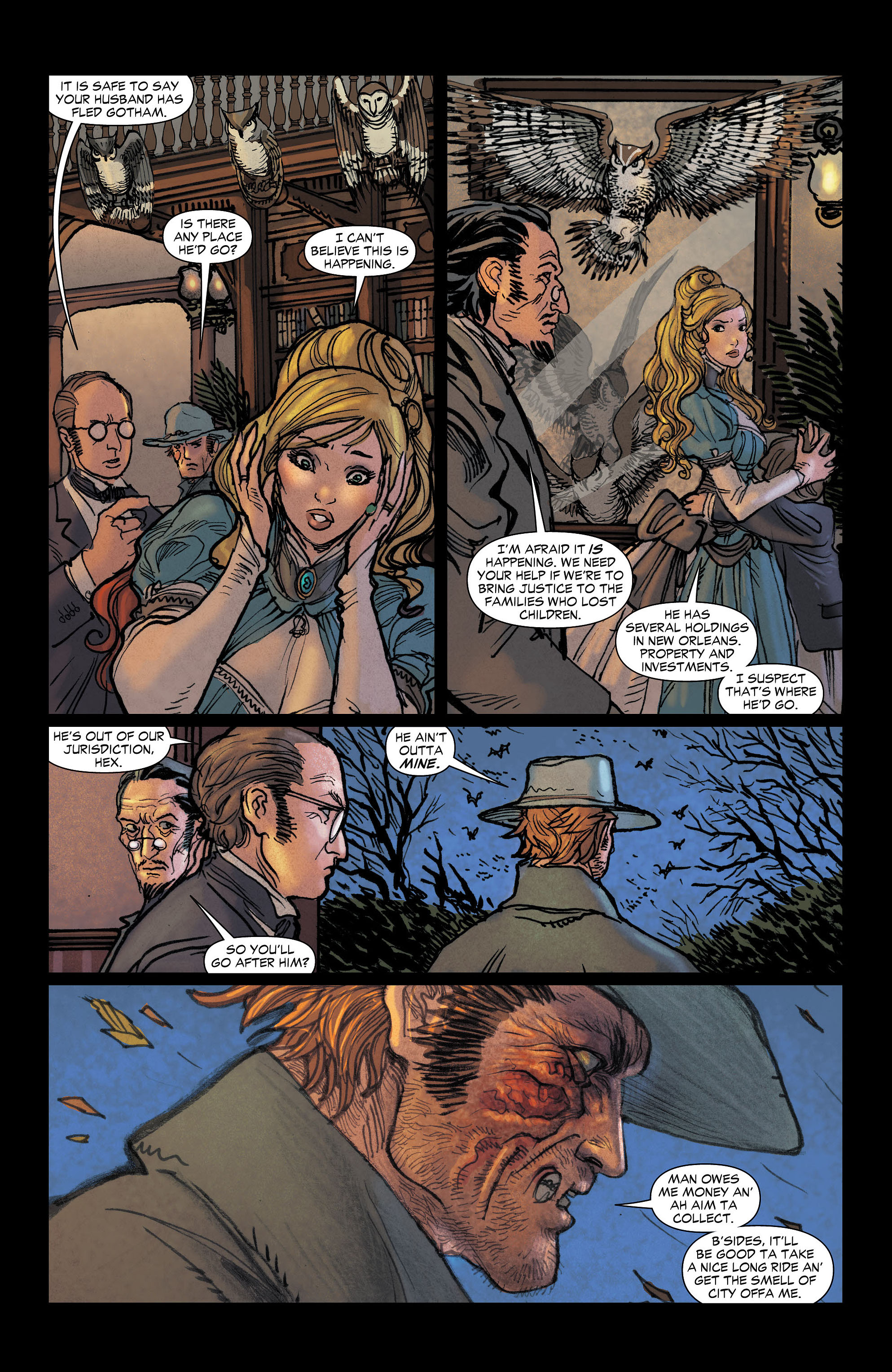 Read online All-Star Western (2011) comic -  Issue #6 - 19