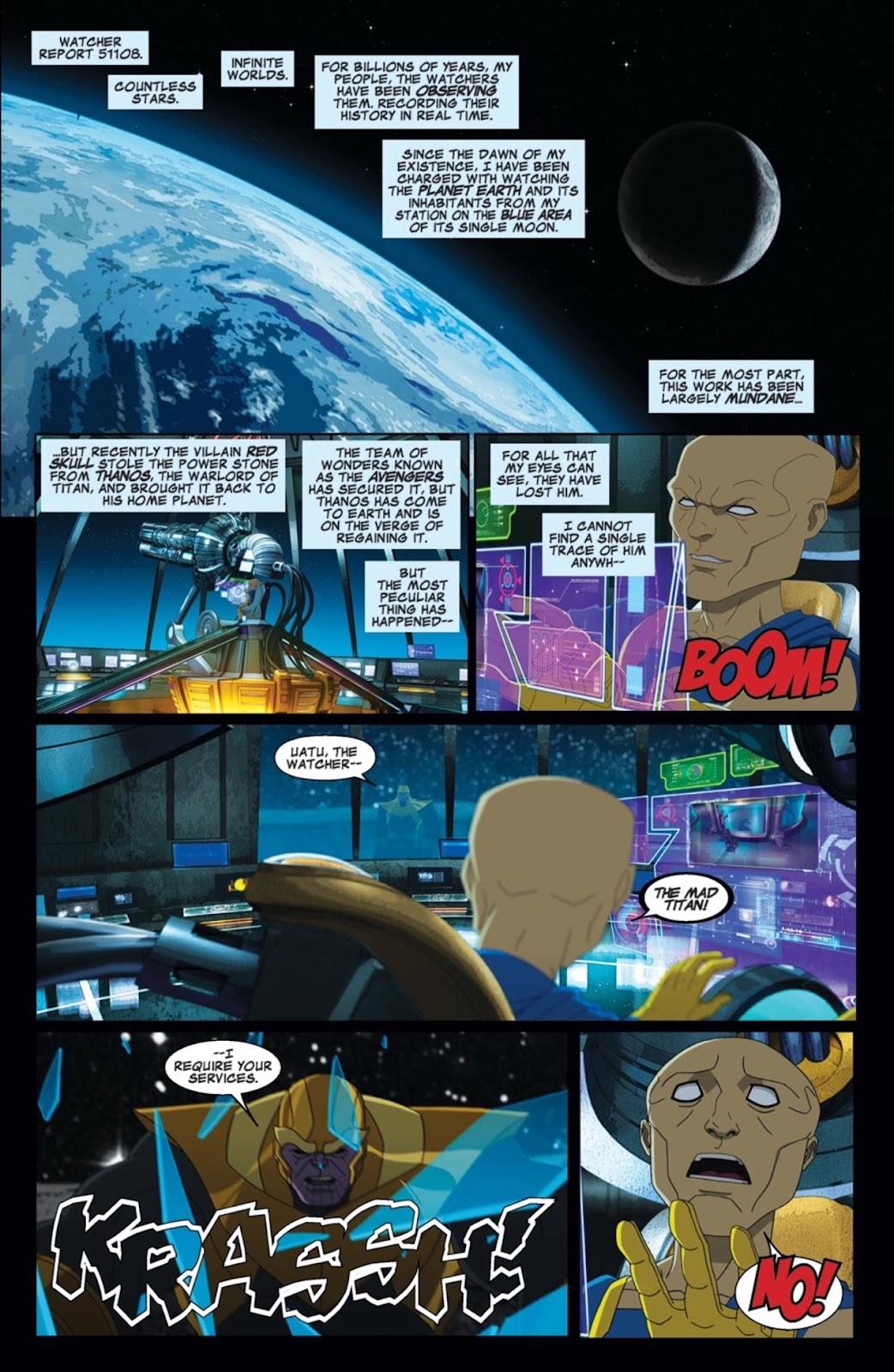 Read online Marvel Universe Avengers Assemble Season 2 comic -  Issue #2 - 2