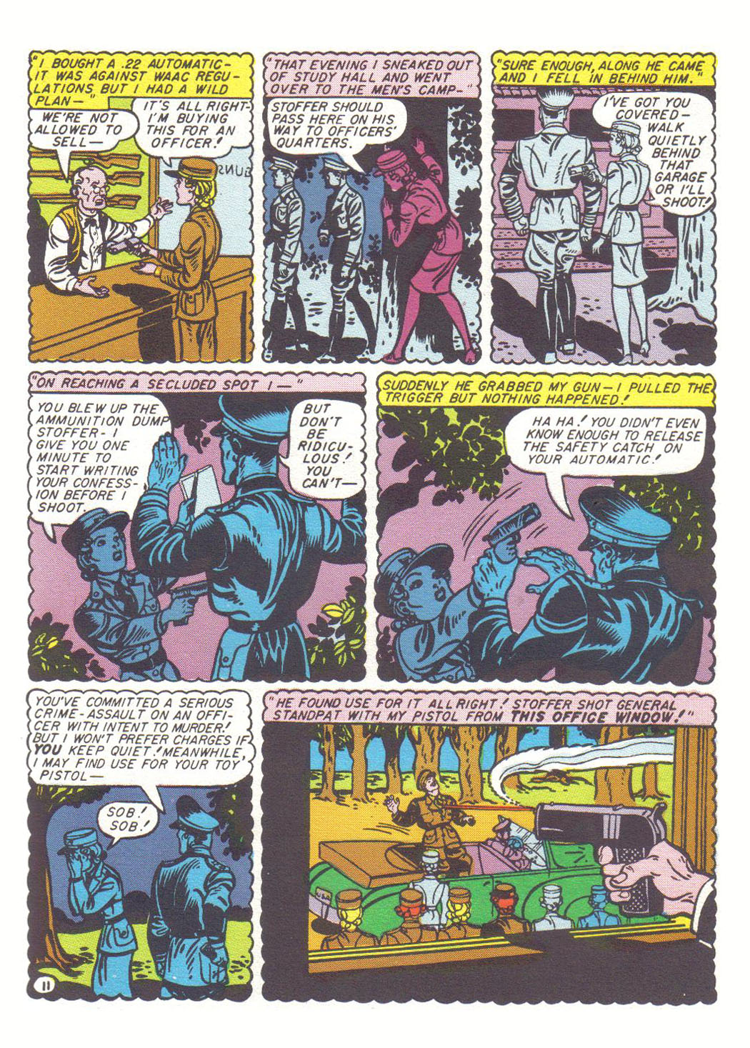 Read online Sensation (Mystery) Comics comic -  Issue #20 - 13