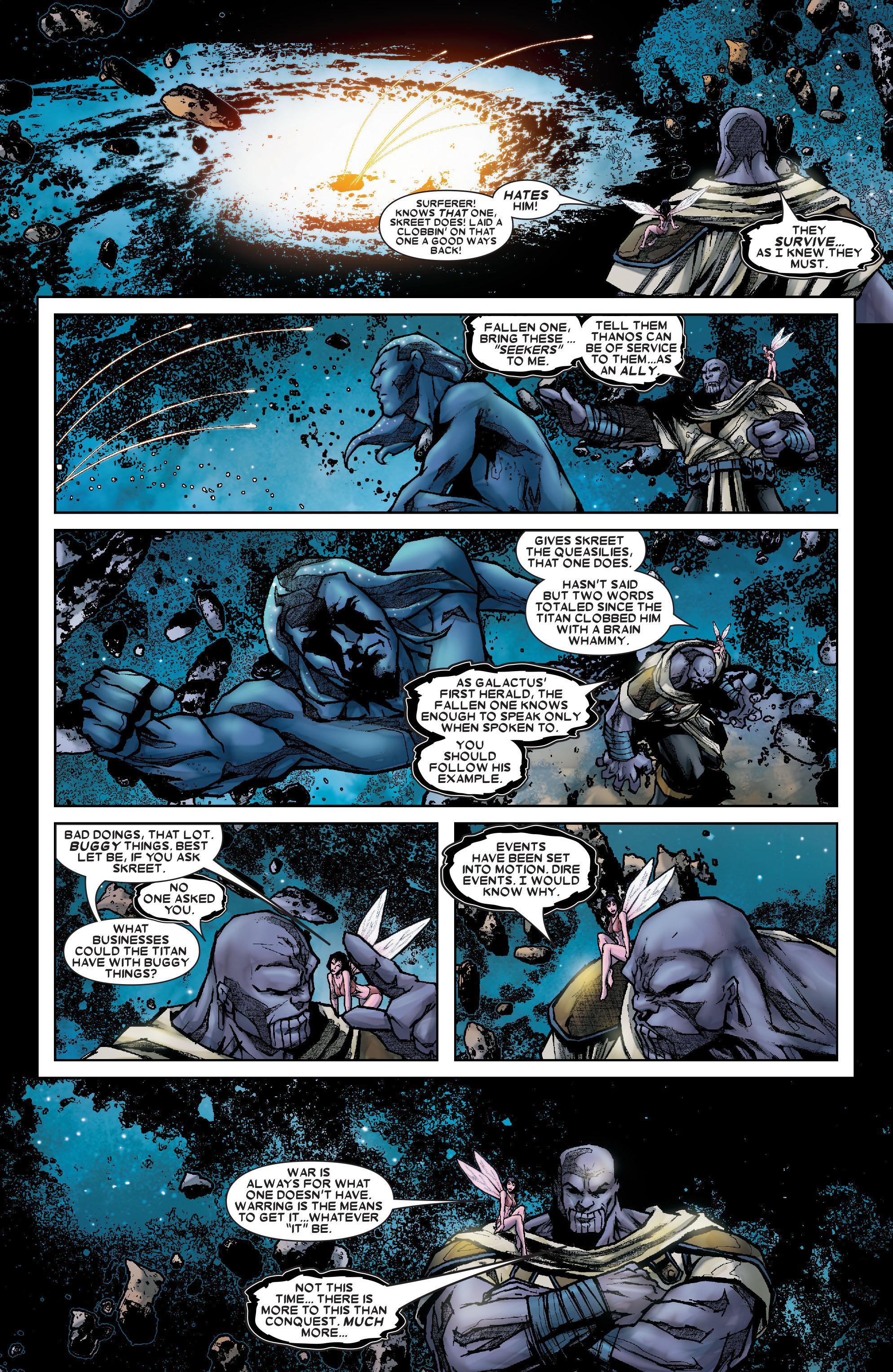 Read online Annihilation: Silver Surfer comic -  Issue #1 - 18