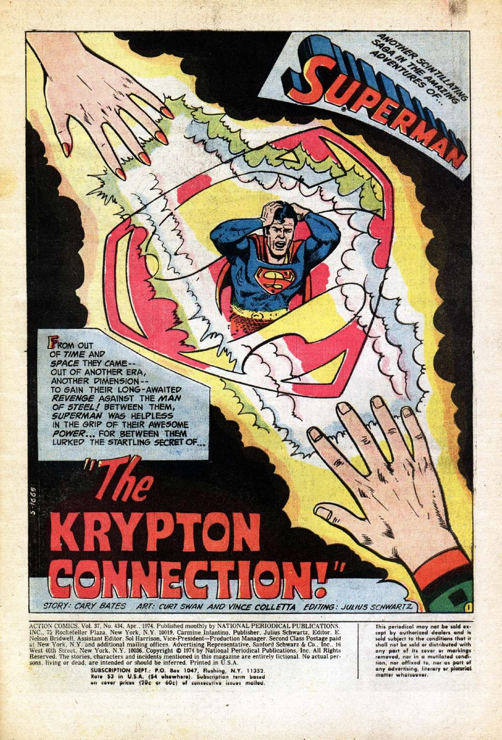 Read online Action Comics (1938) comic -  Issue #434 - 3