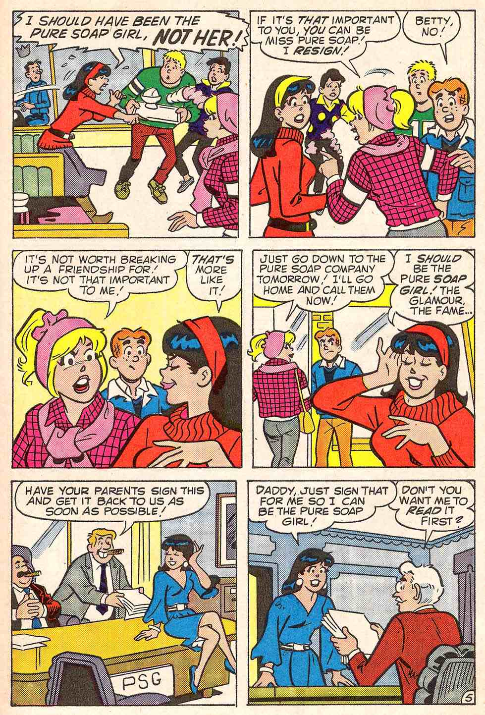 Read online Archie's Girls Betty and Veronica comic -  Issue #347 - 31