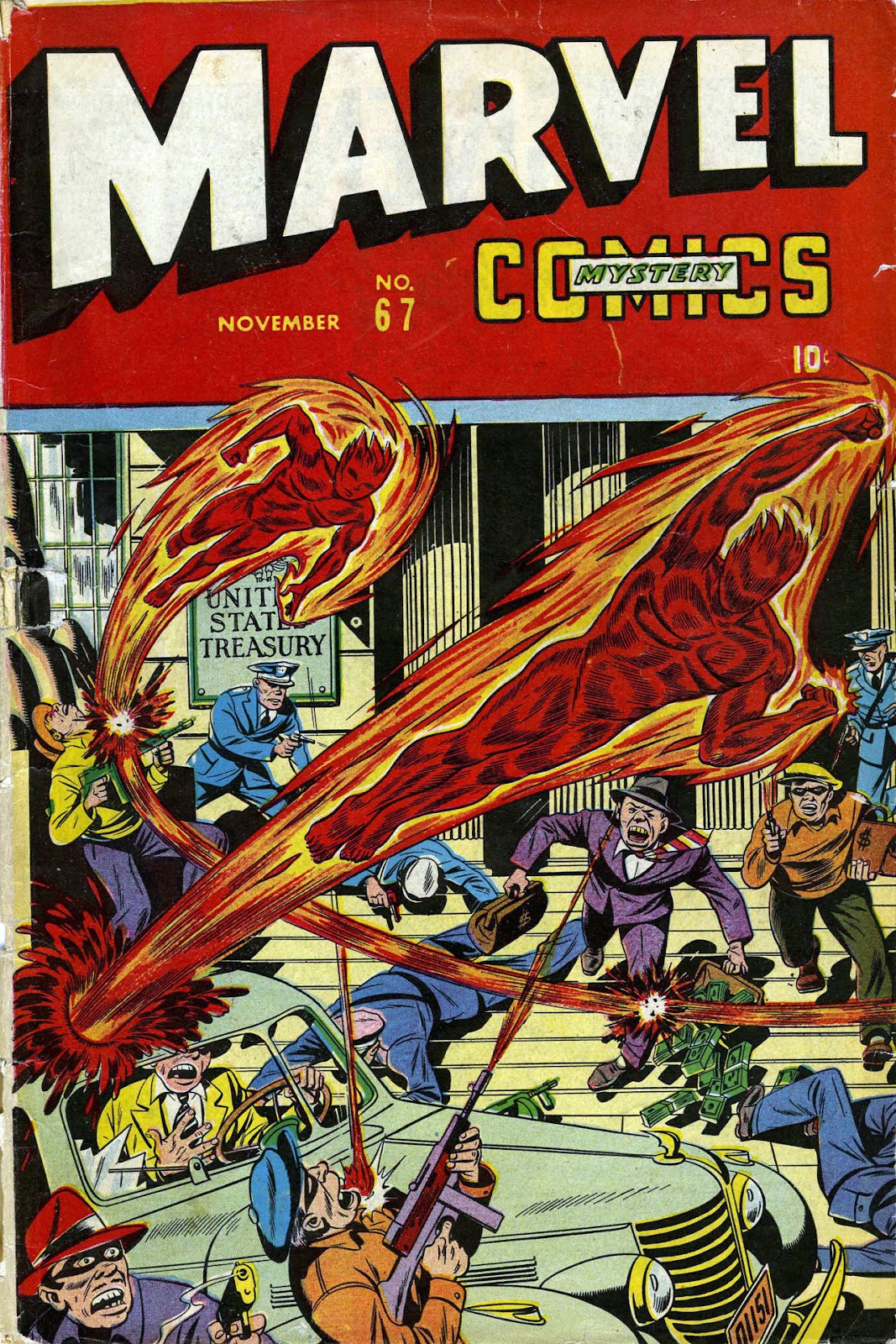 Marvel Mystery Comics 67 Page 1