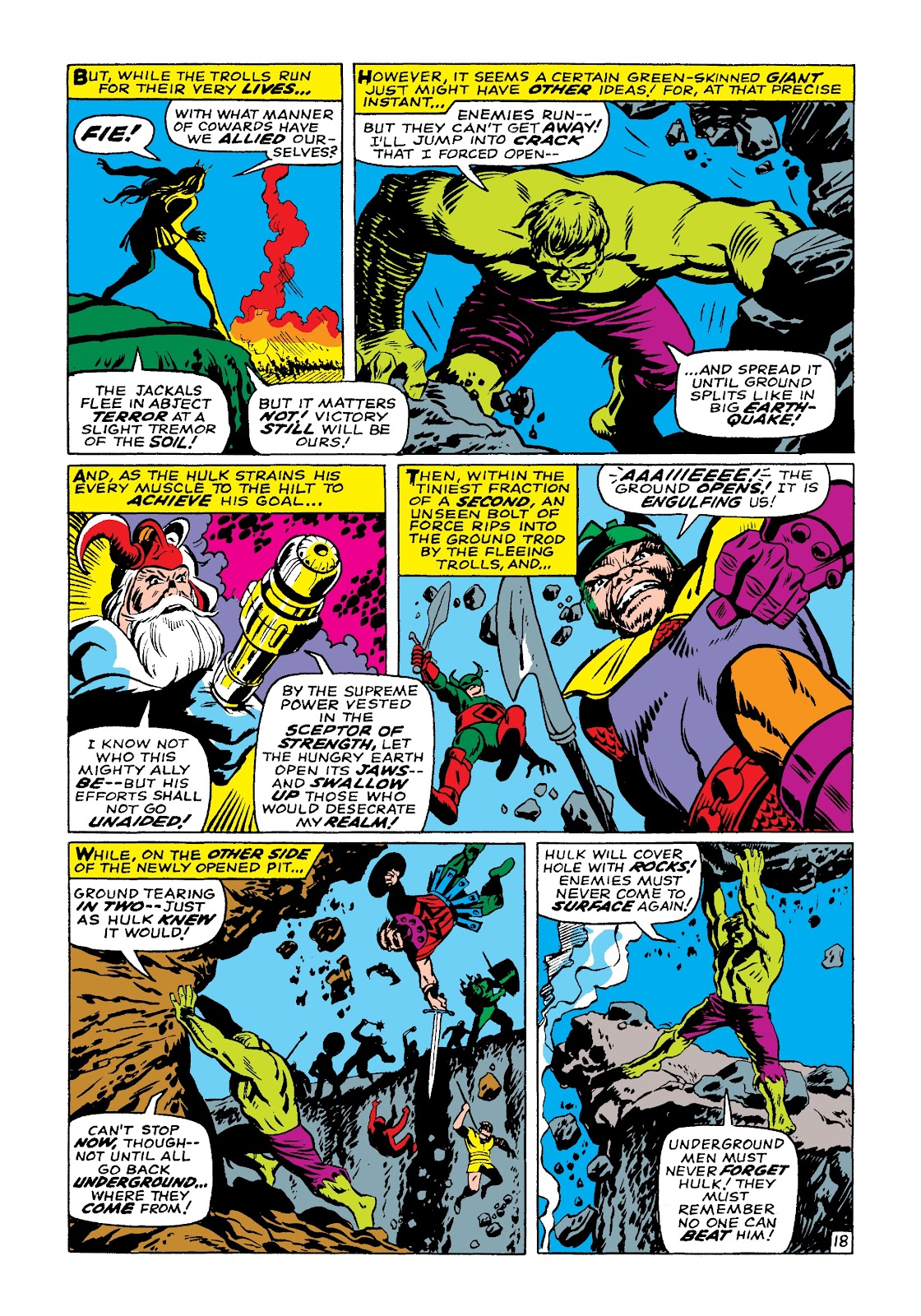 Read online Marvel Masterworks: The Incredible Hulk comic -  Issue # TPB 3 (Part 3) - 81