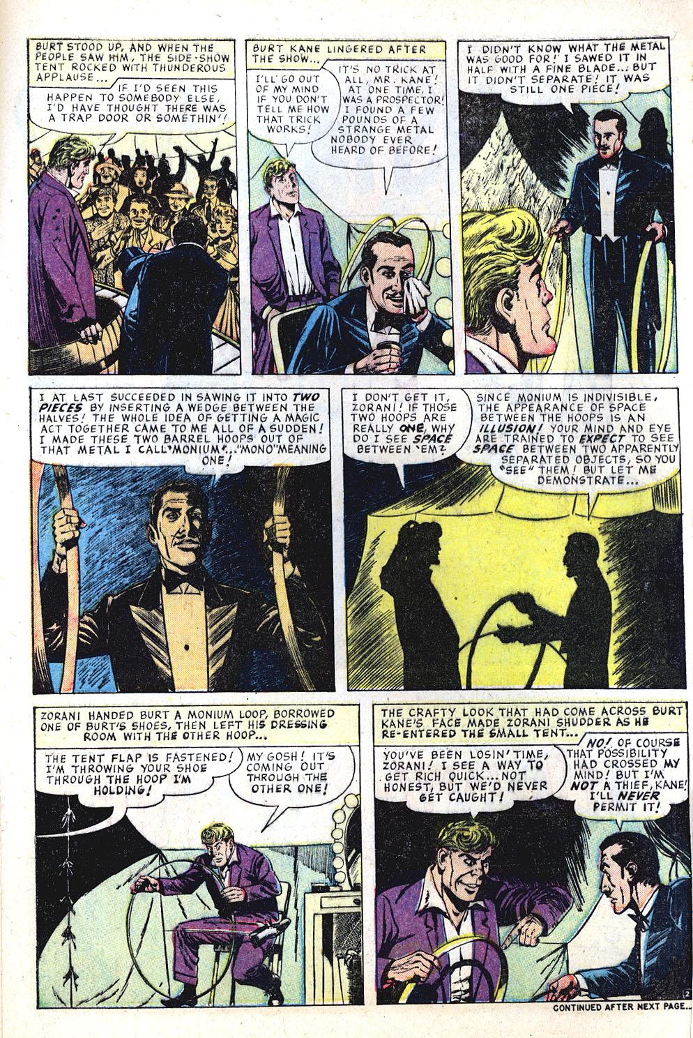 Comic Strange Tales (1951) issue 66