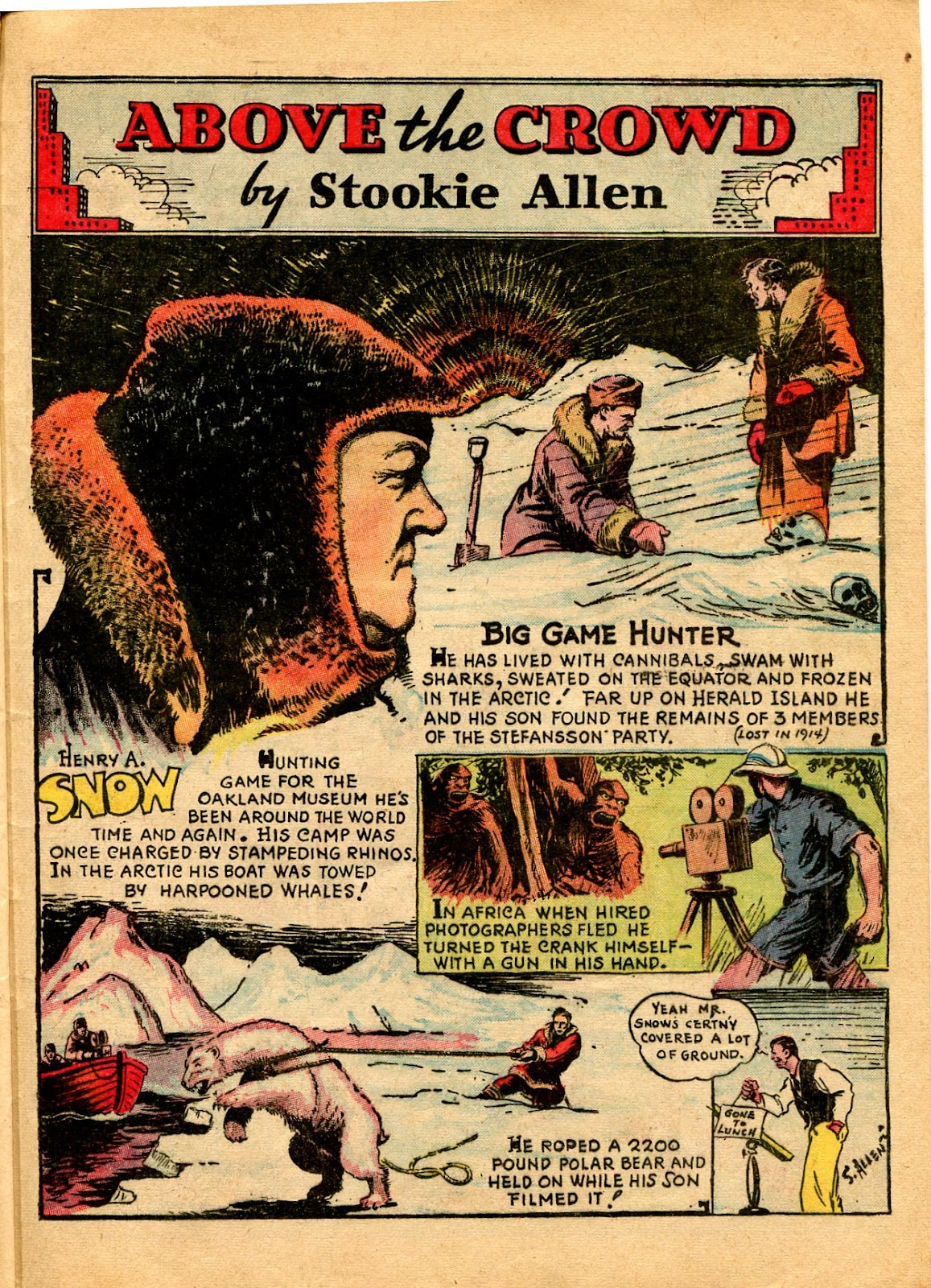 Read online Famous Funnies comic -  Issue #49 - 49