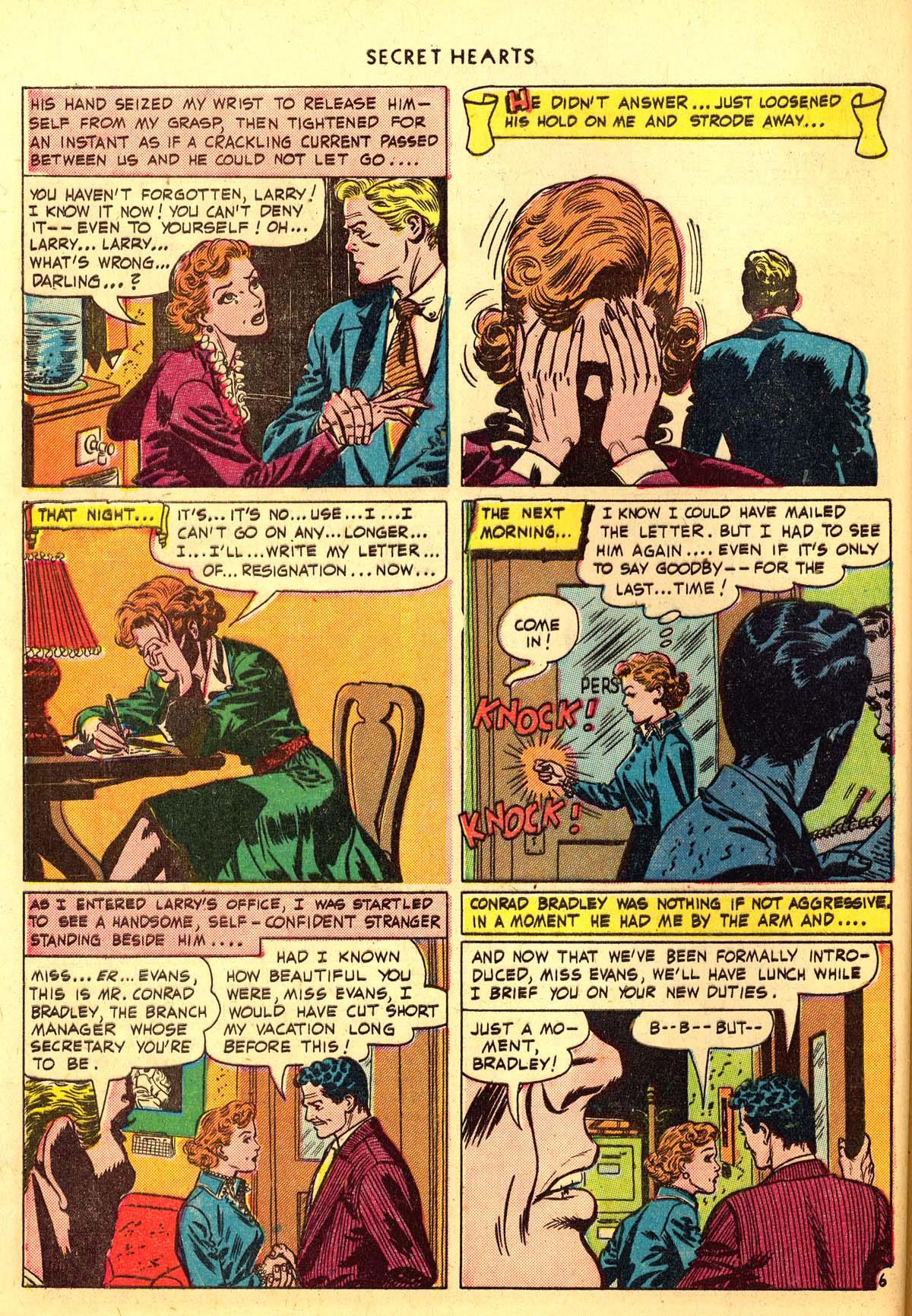 Read online Secret Hearts comic -  Issue #6 - 46