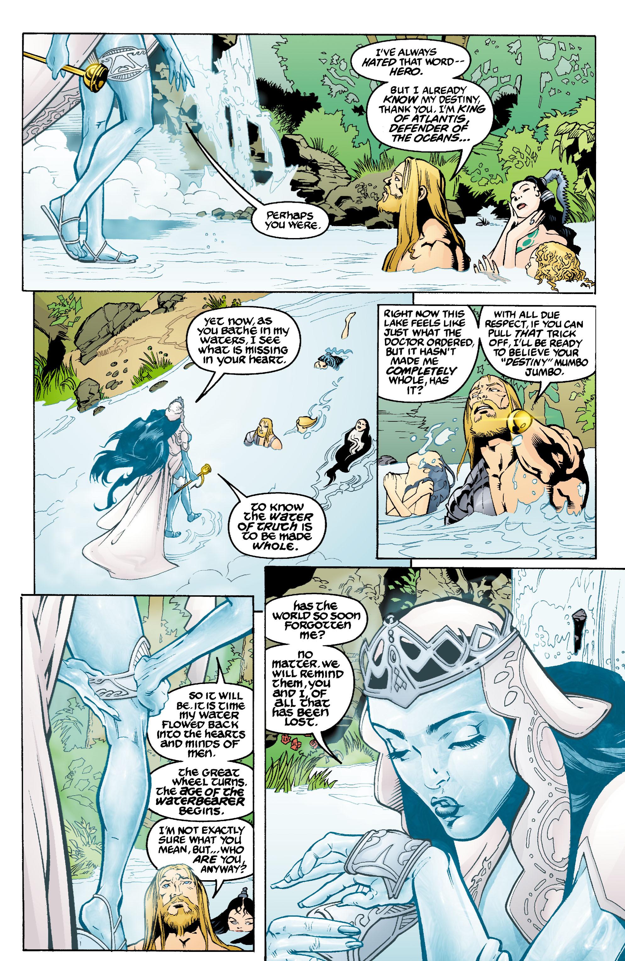 Read online Aquaman (2003) comic -  Issue #1 - 19