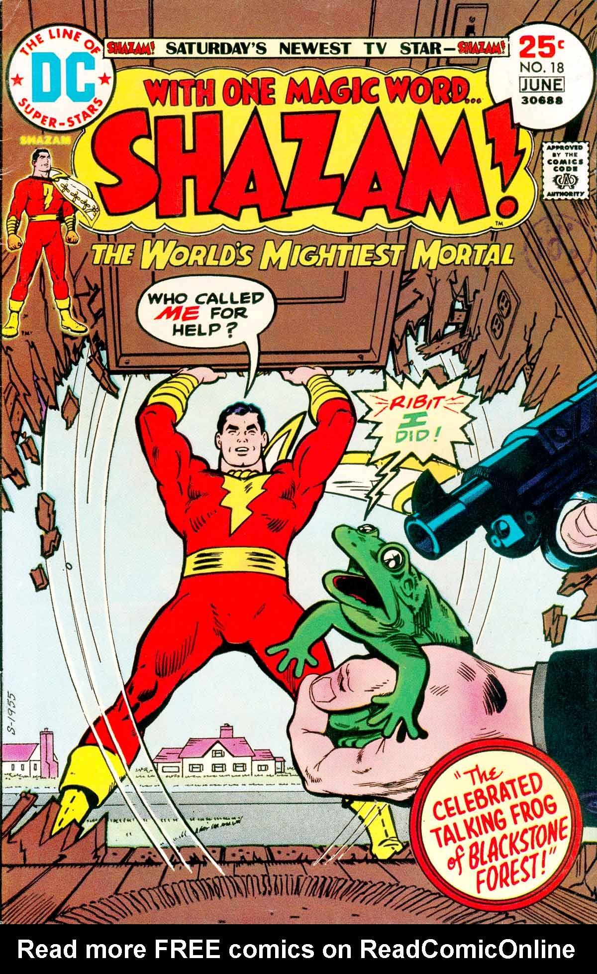 Read online Shazam! (1973) comic -  Issue #18 - 1