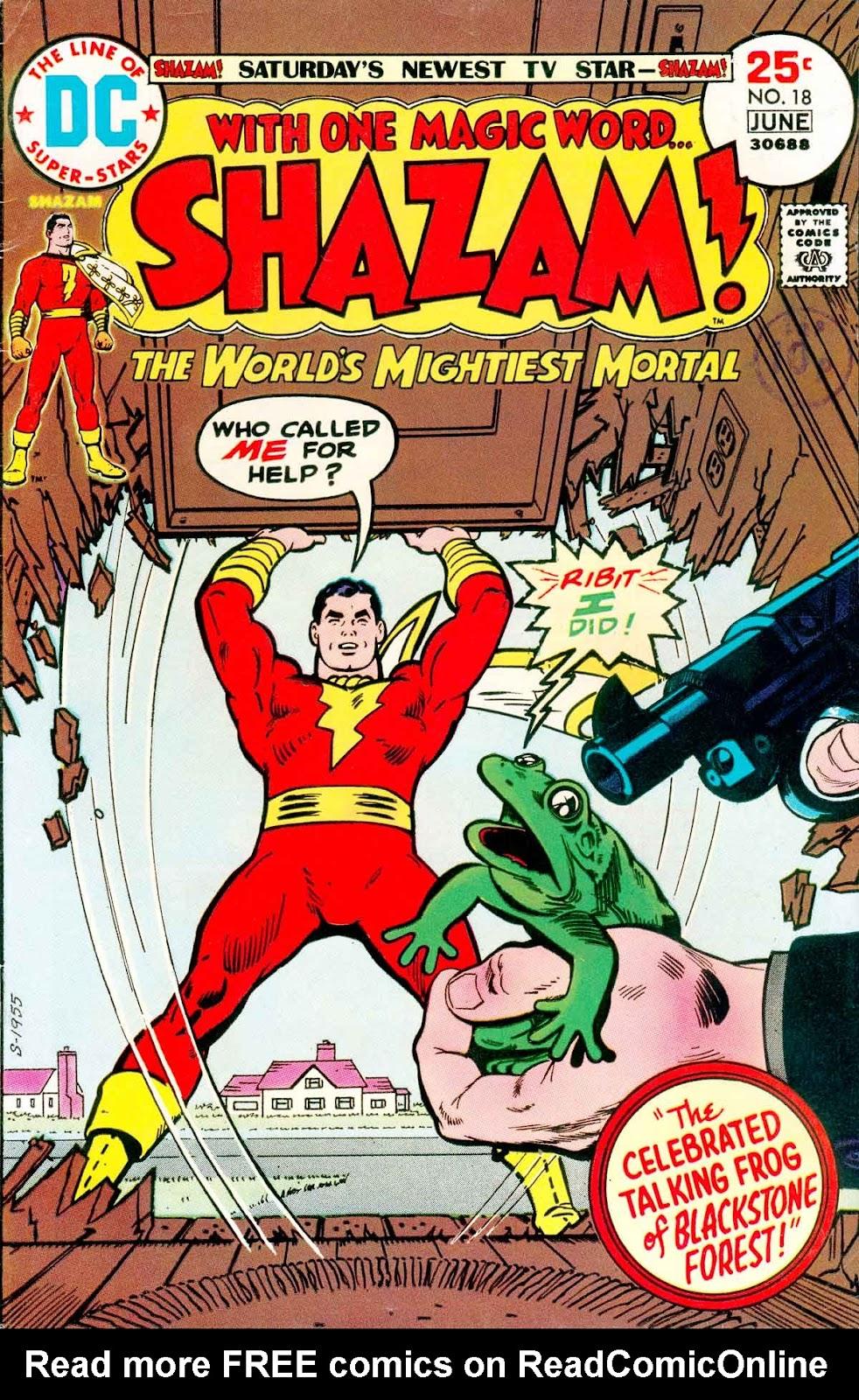 Shazam! (1973) issue 18 - Page 1