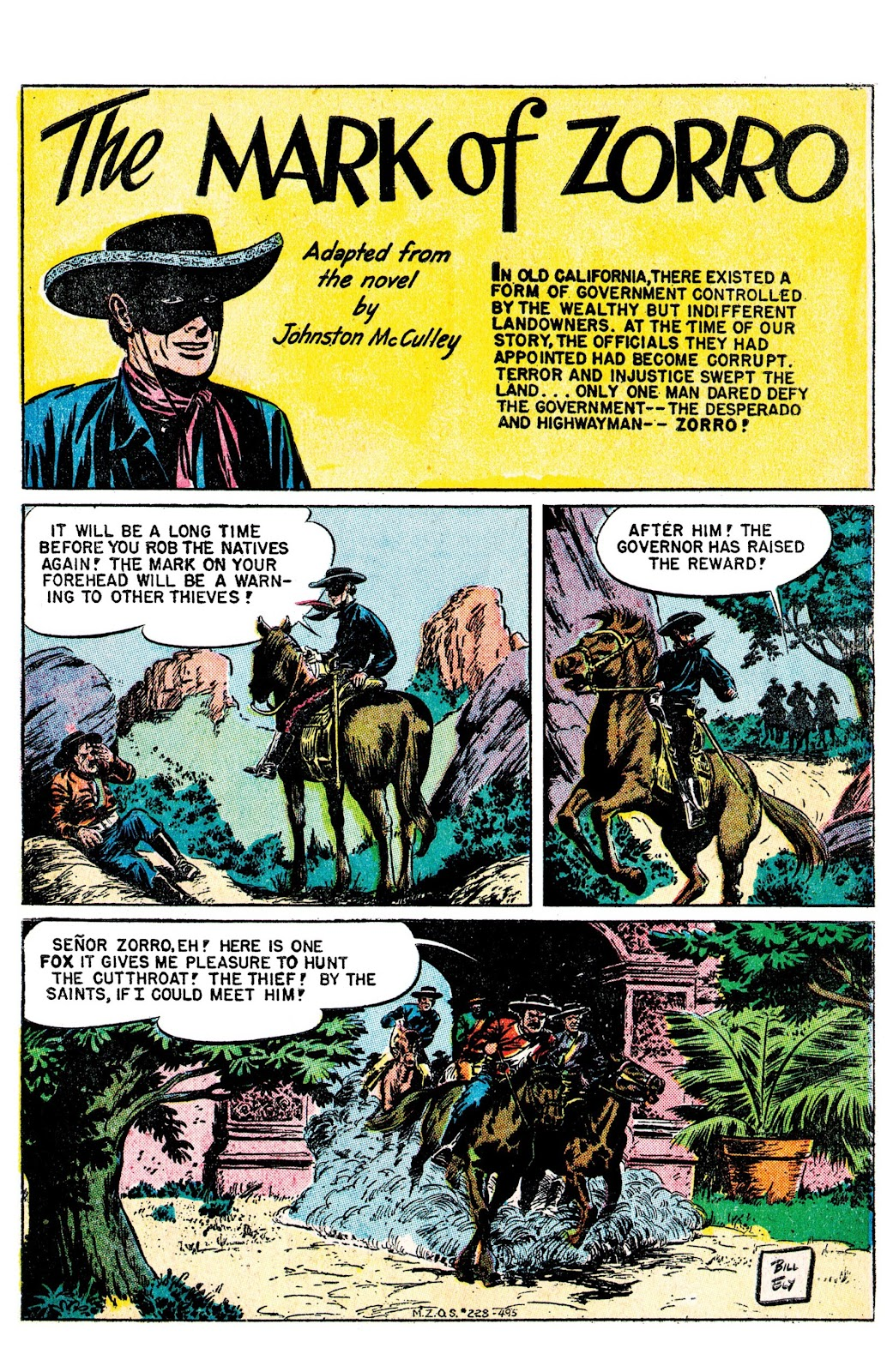 Read online AM Archives: The Mark of Zorro #1 1949 Dell Edition comic -  Issue #1 1949 Dell Edition Full - 3