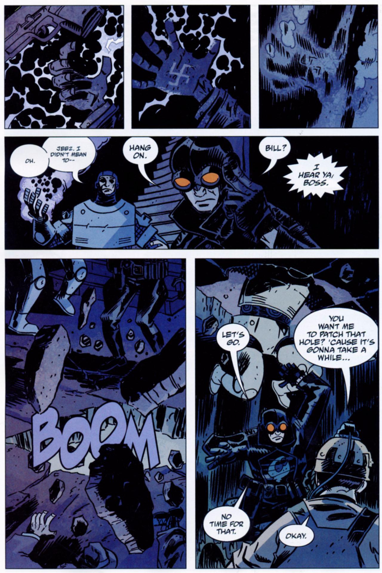 Read online Lobster Johnson: The Iron Prometheus comic -  Issue #1 - 15