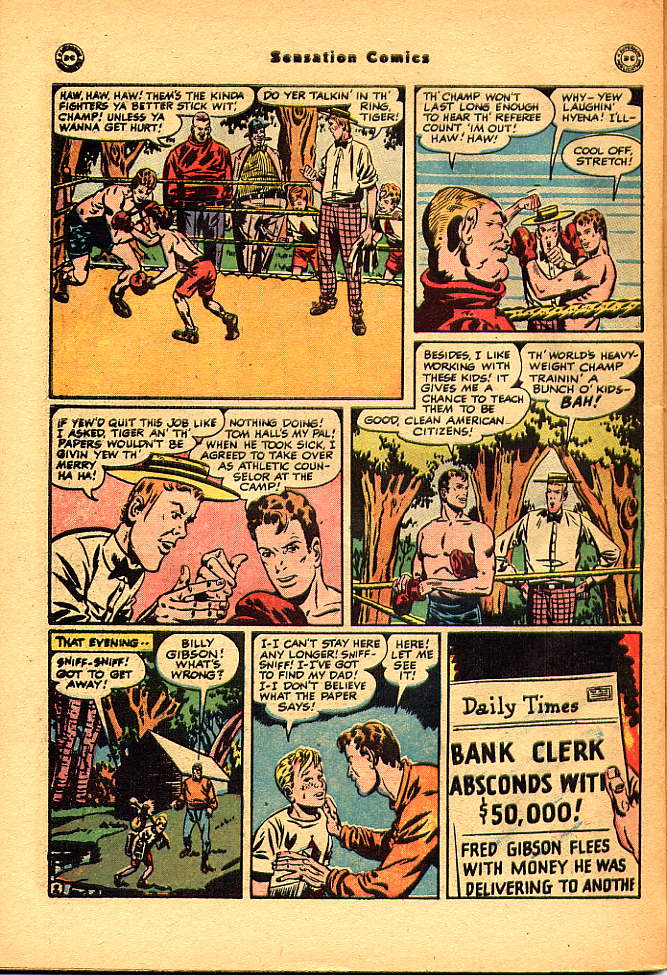Read online Sensation (Mystery) Comics comic -  Issue #83 - 44