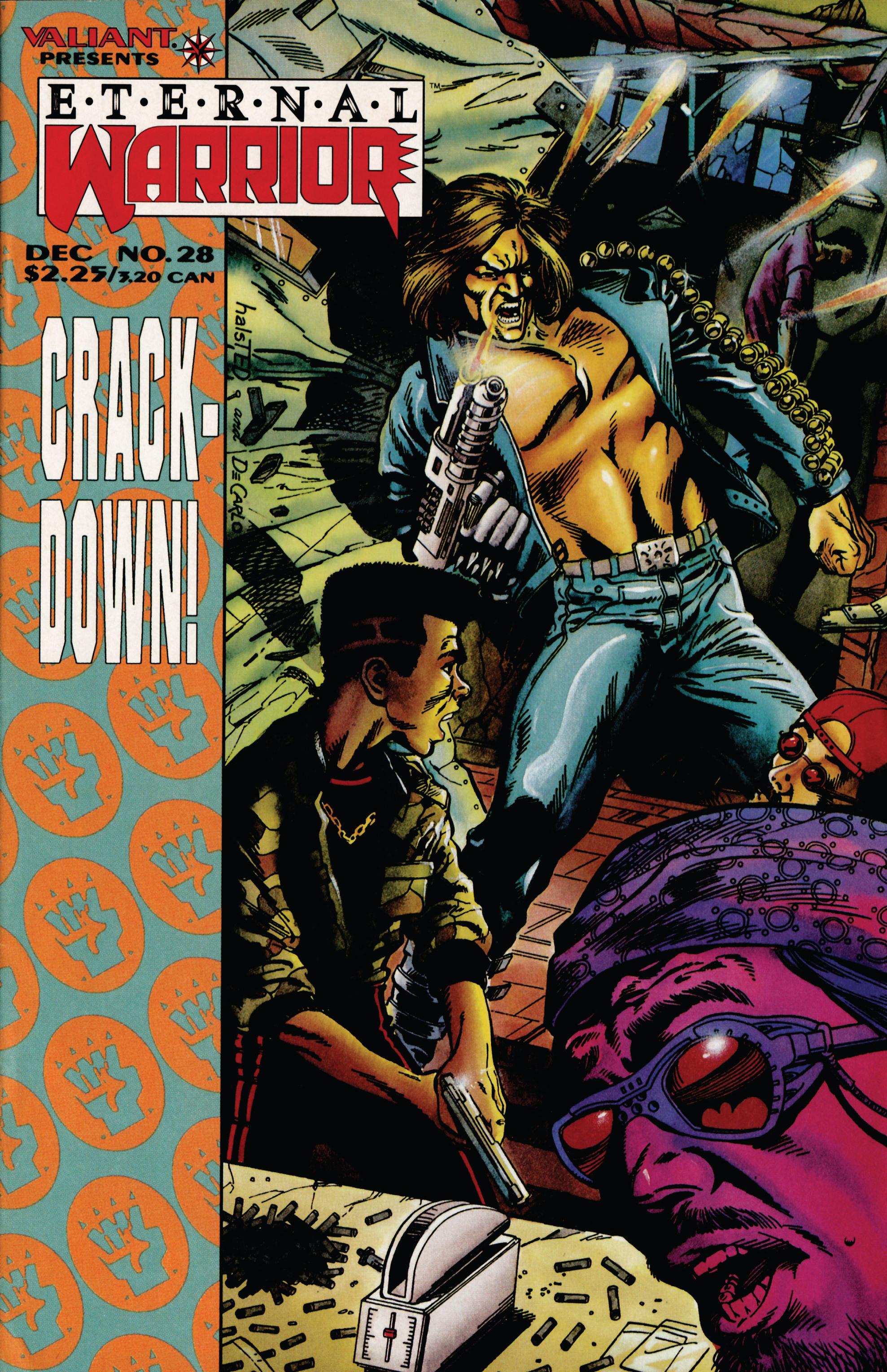 Read online Eternal Warrior (1992) comic -  Issue #28 - 1