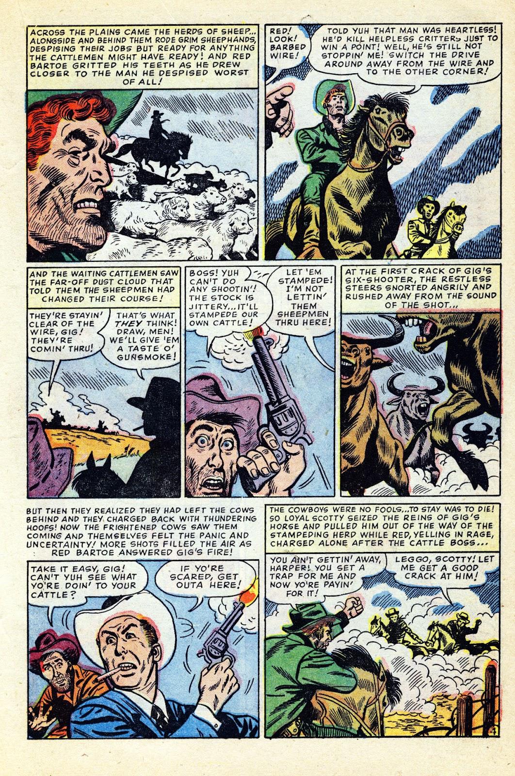 Gunsmoke Western issue 32 - Page 19