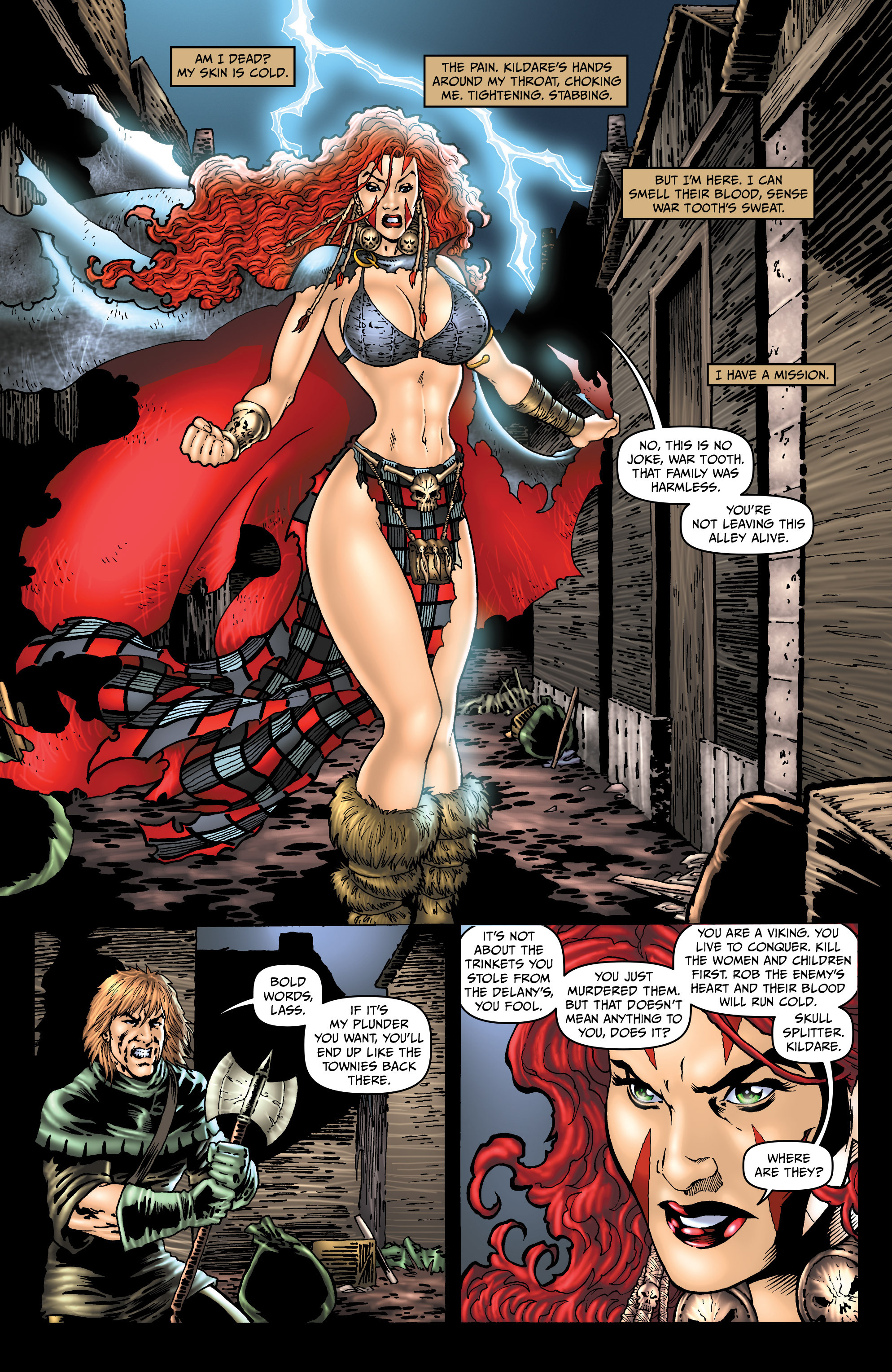 Read online Belladonna: Origins comic -  Issue #2 - 7
