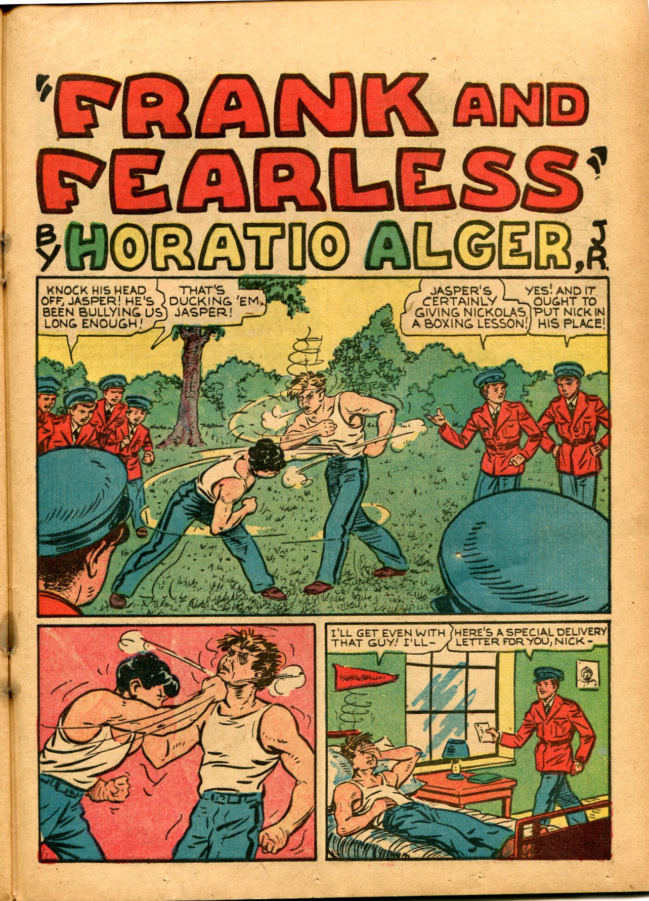 Read online Shadow Comics comic -  Issue #8 - 49