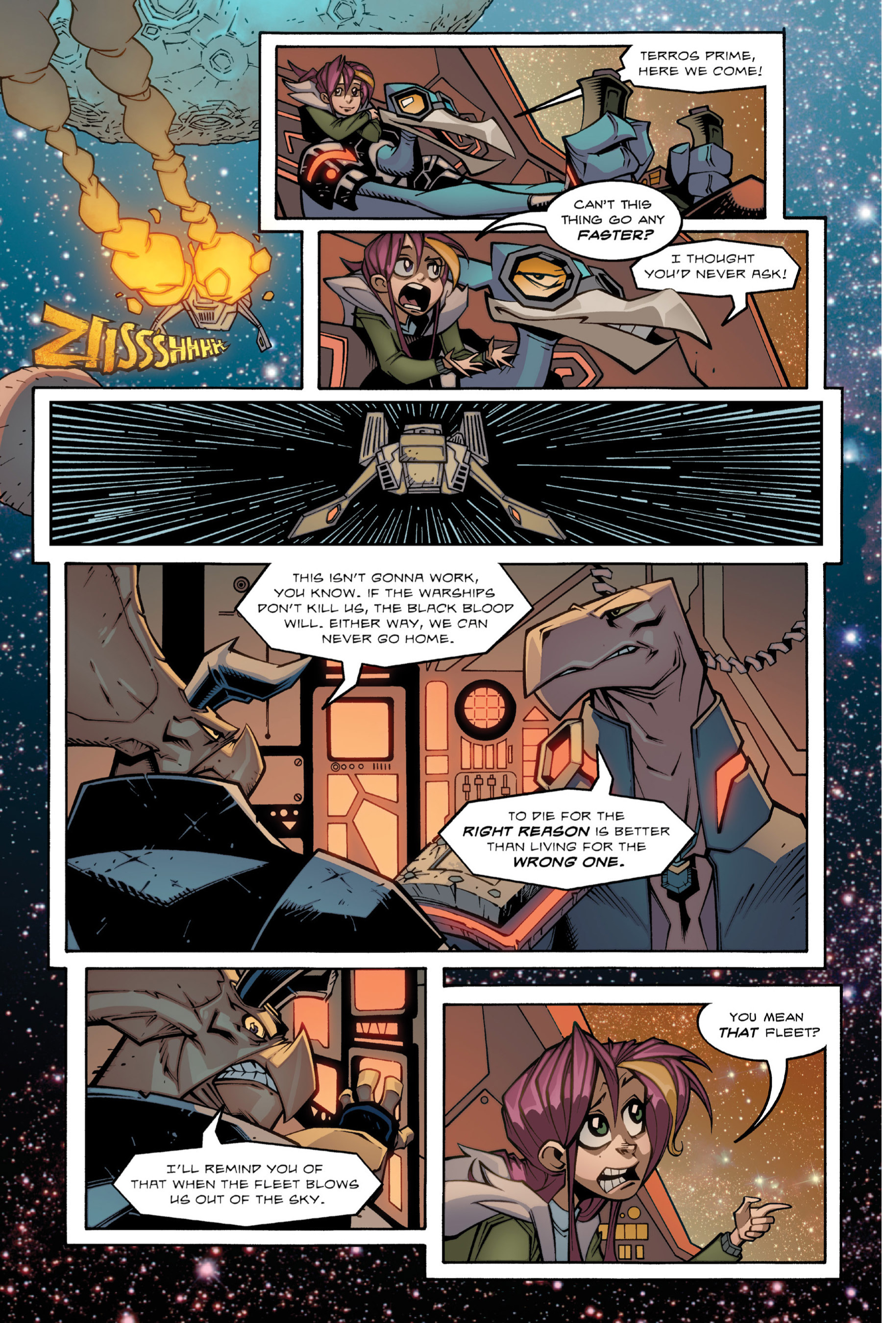 Read online Rexodus comic -  Issue # Full - 80