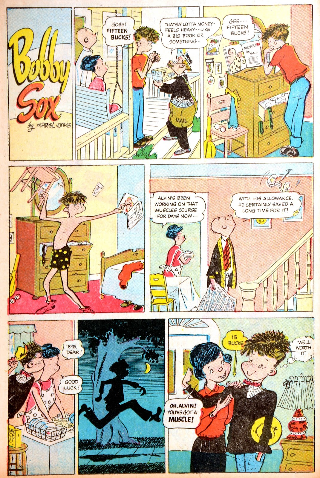 Read online Famous Funnies comic -  Issue #195 - 34