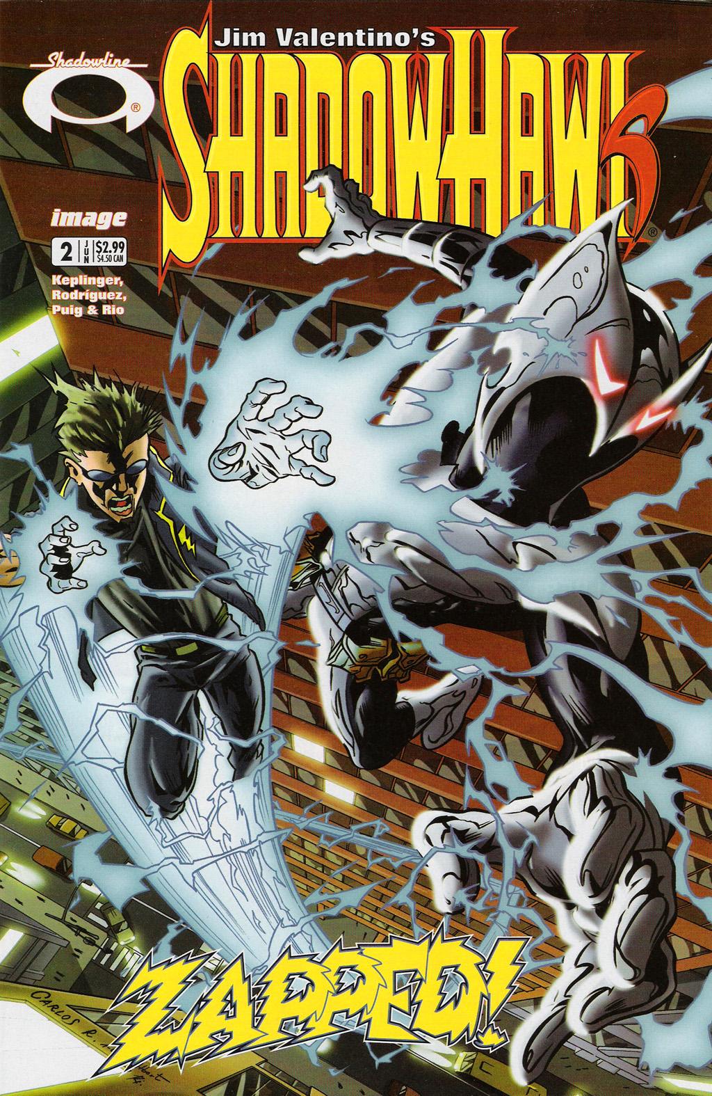 Read online ShadowHawk (2005) comic -  Issue #2 - 1