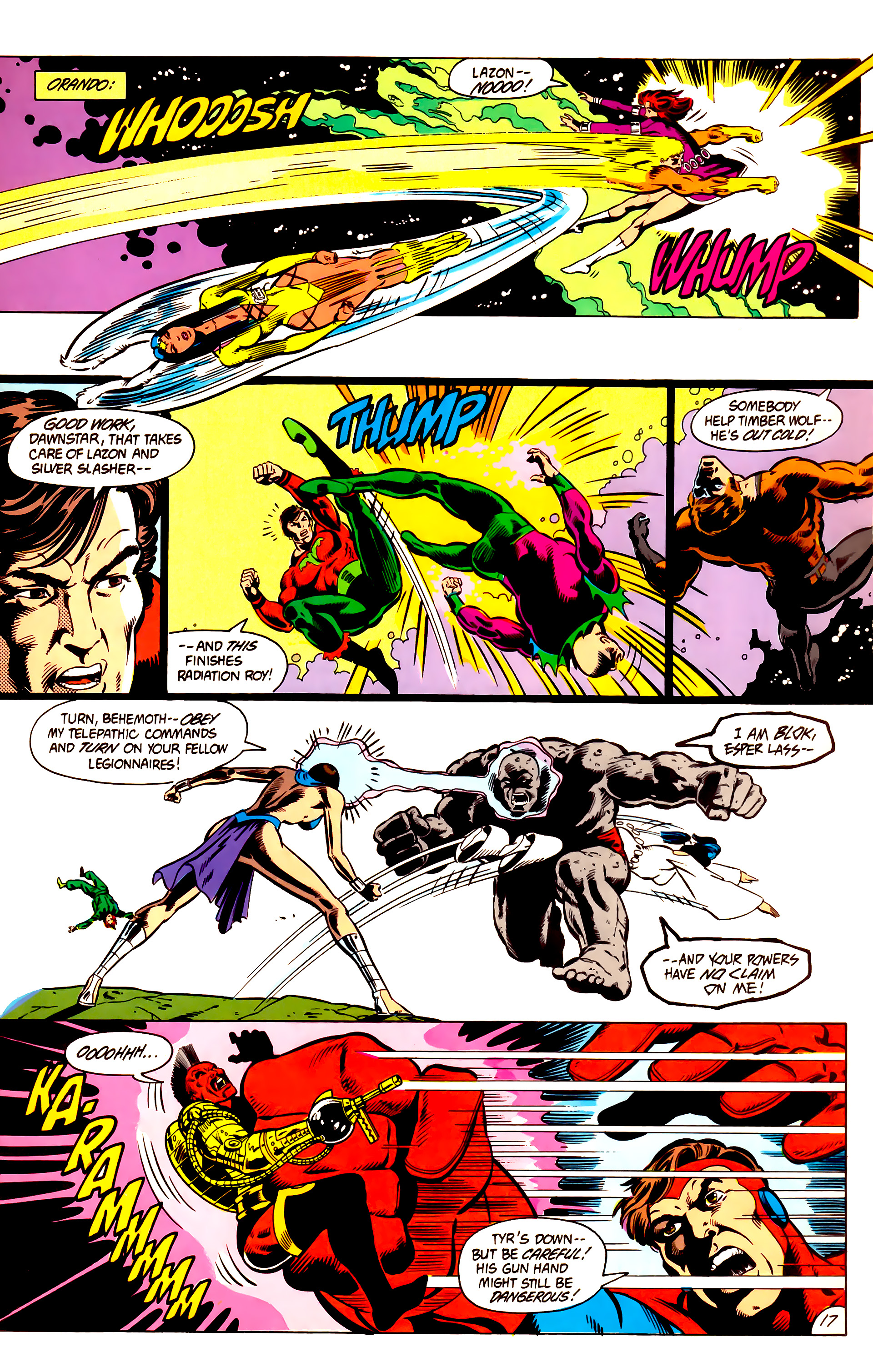 Legion of Super-Heroes (1984) 3 Page 18