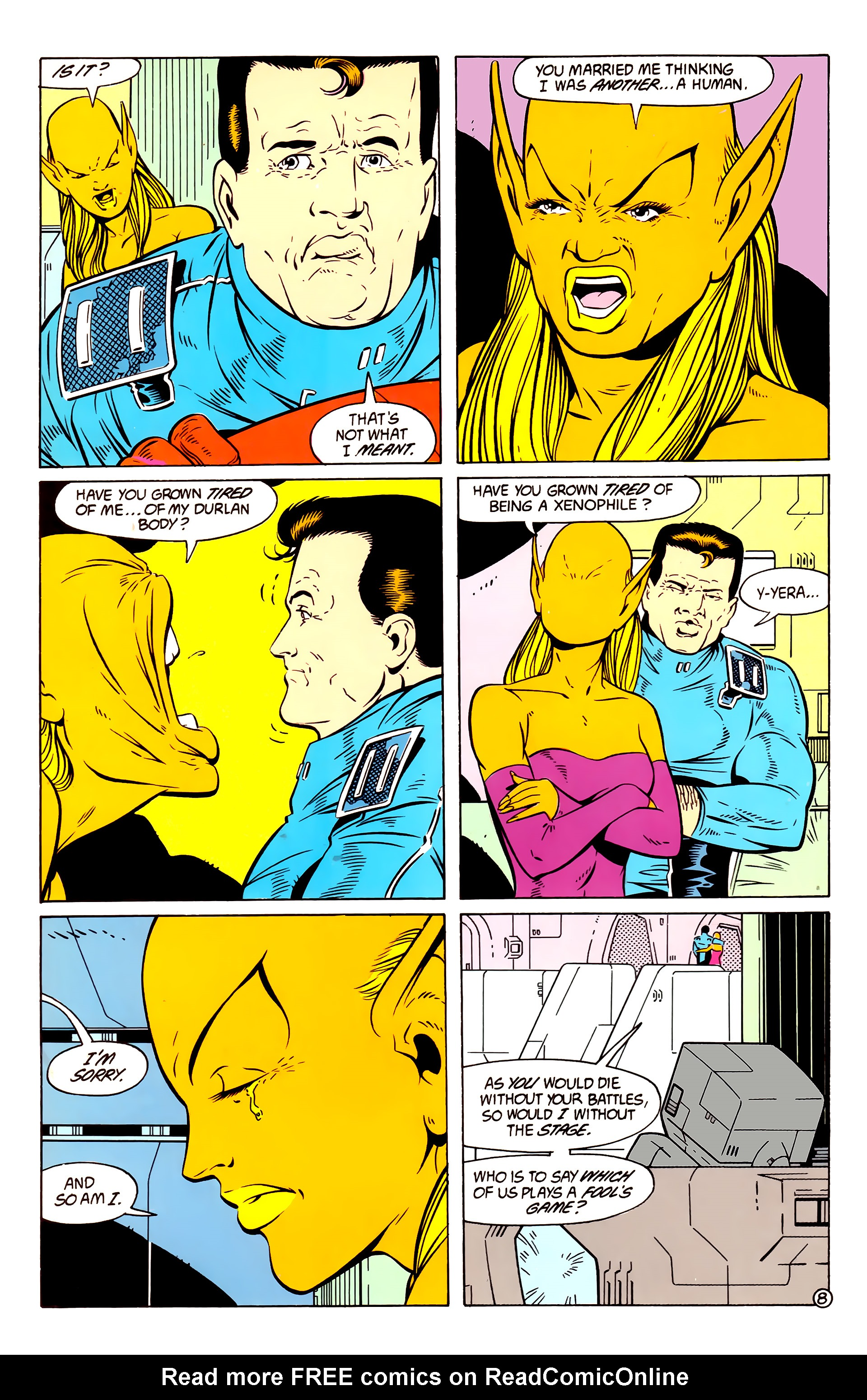 Legion of Super-Heroes (1984) 58 Page 8