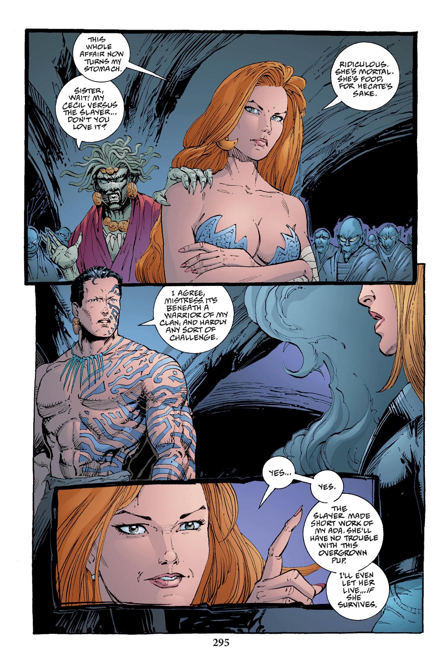 Read online Buffy the Vampire Slayer: Omnibus comic -  Issue # TPB 2 - 287